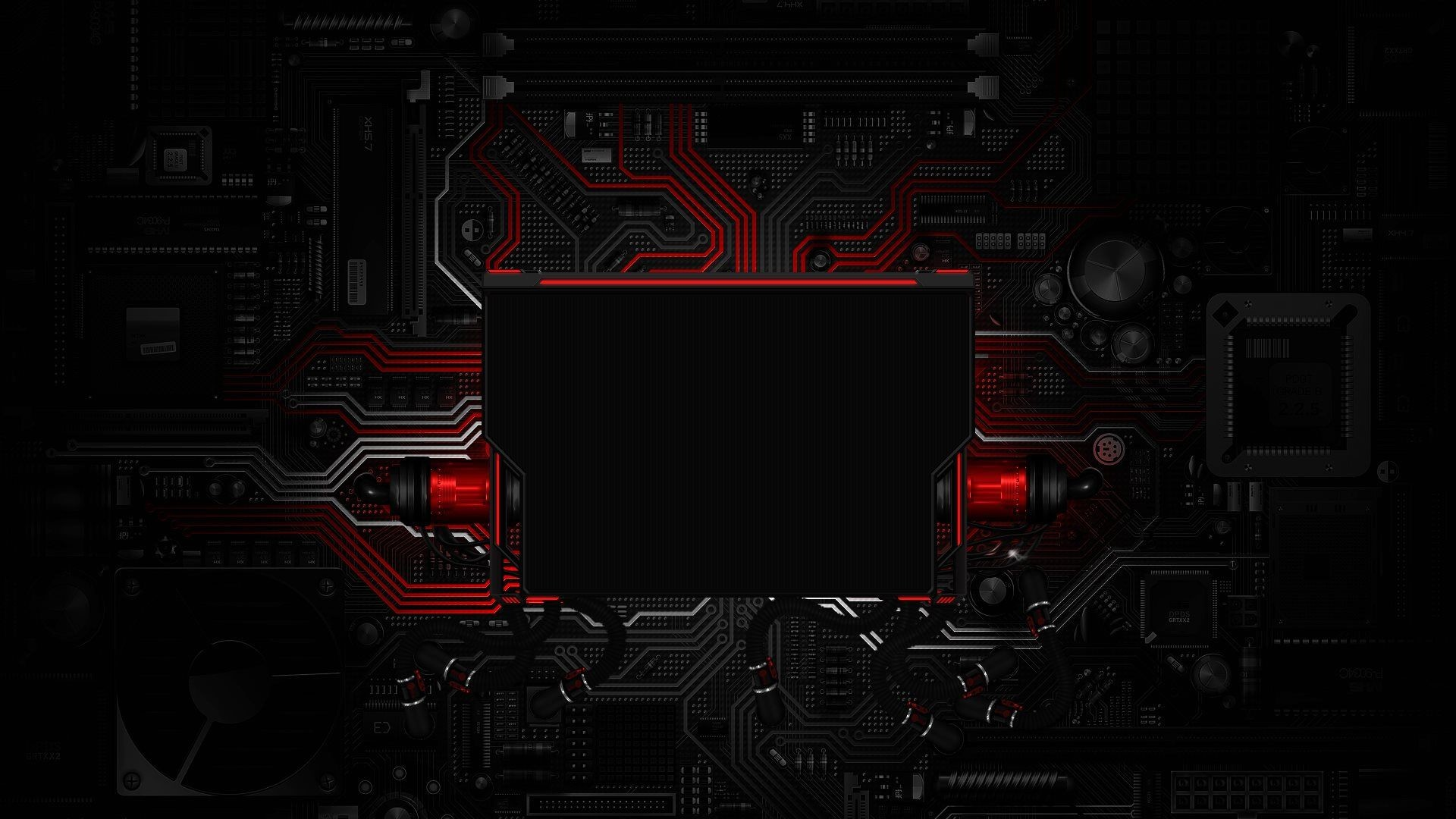 1920x1080 Top Red Cubic Tech Wallpapers Images for Pinterest