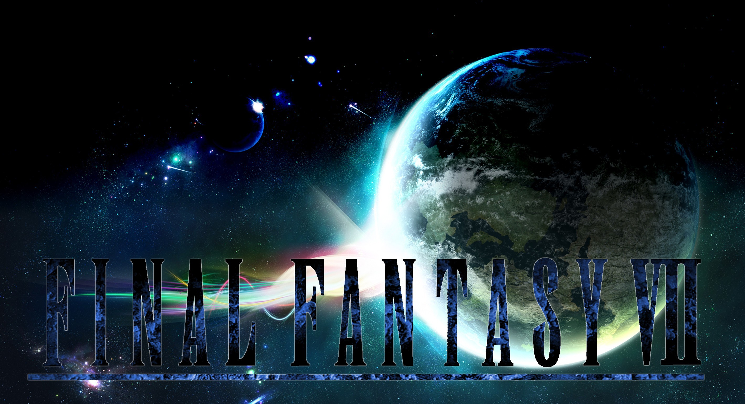 2838x1541  Final Fantasy 7 Logo Background. Download · Final ...