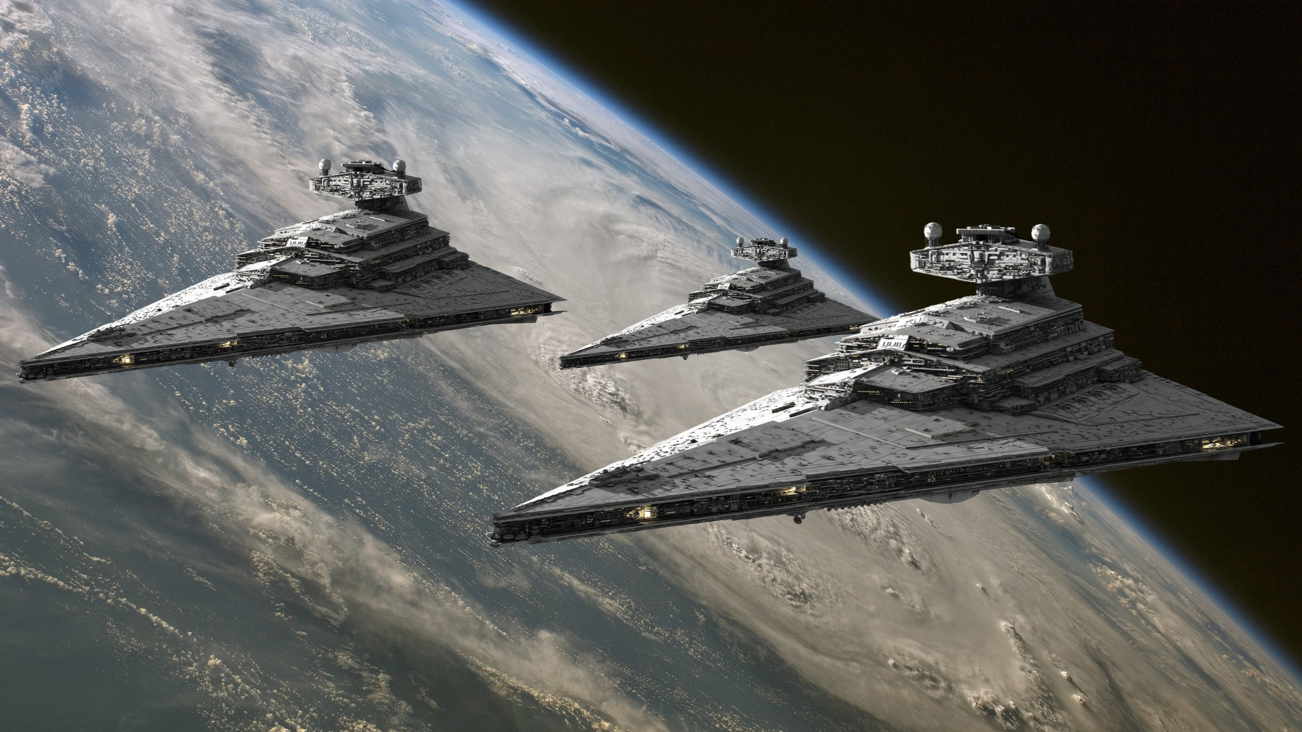 2560x1440 Star Wars Imperial Destroyer Space Planet · Star Wars WallpaperSpace Planets StarwarsEmpireWallpapers