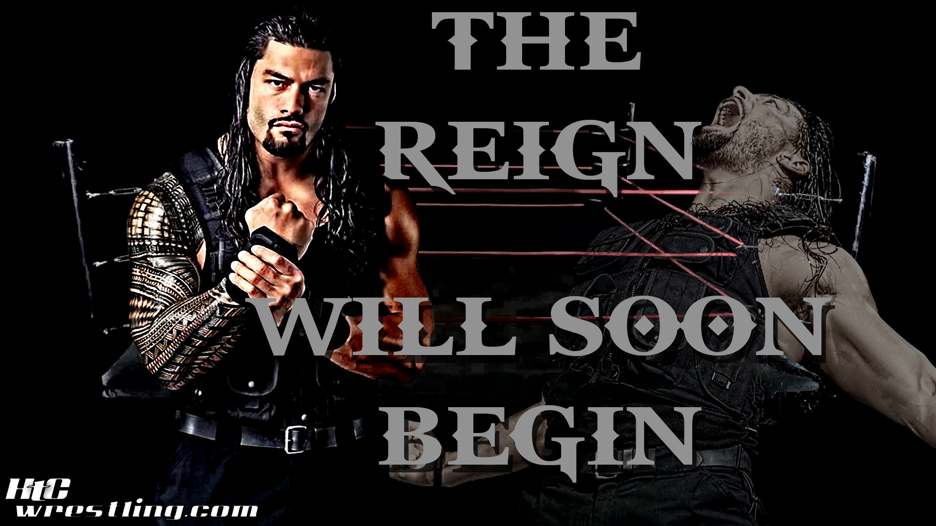 1920x1080 Roman Reigns - The Reign Will Soon Begin Wallpaper