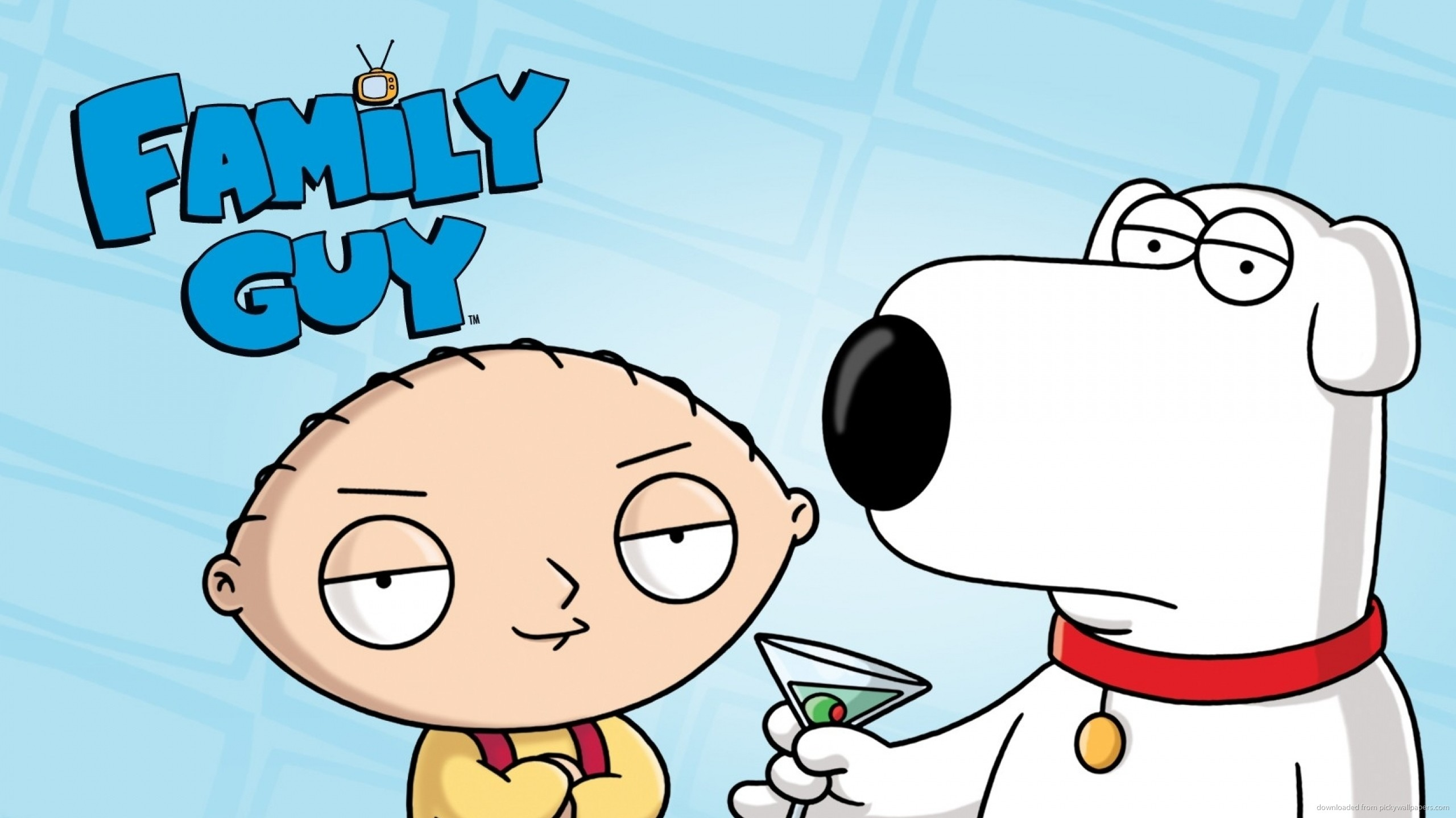 2560x1440 Brian And Stewie Griffin for