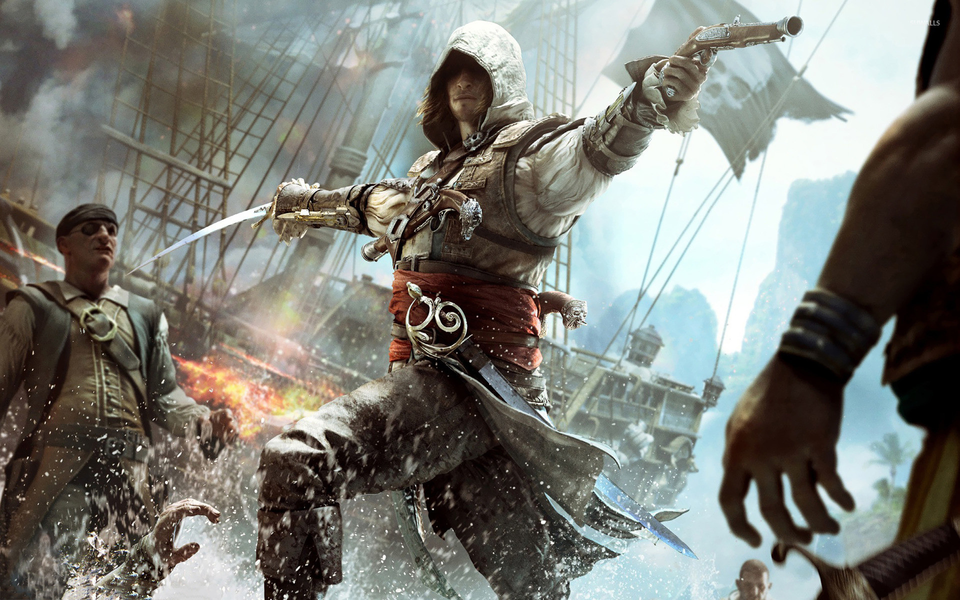 1920x1200 Assassin's Creed IV: Black Flag [8] wallpaper