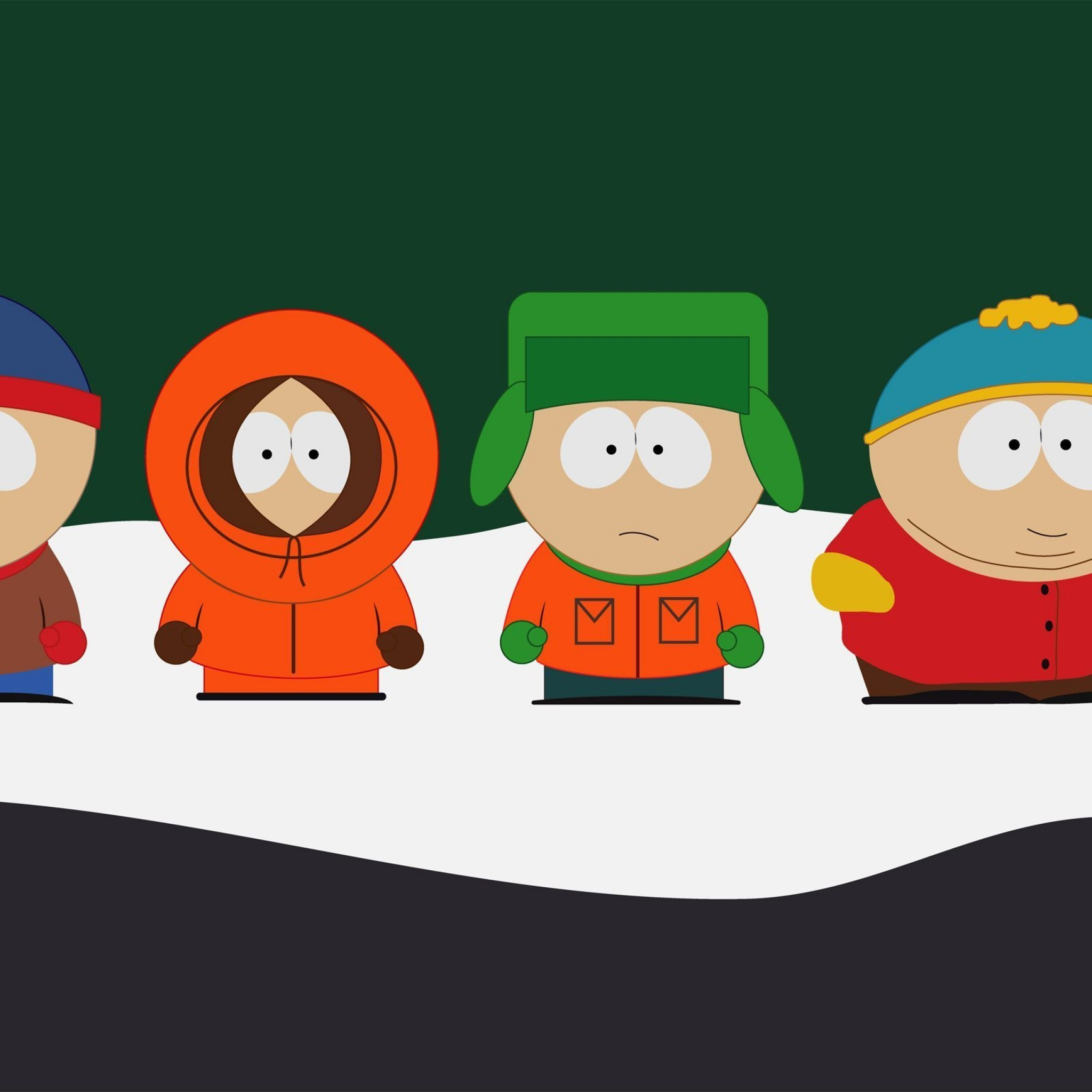 2048x2048 South Park Wallpaper iPhone