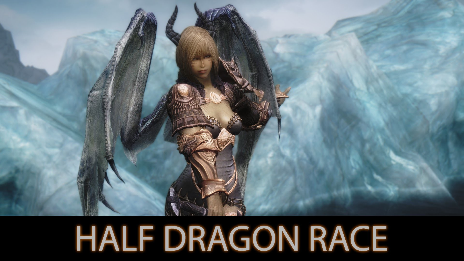 1920x1080 SEXY AND STRONG - Skyrim Mods - Half Dragon Race. [60FPS|1080p] - YouTube