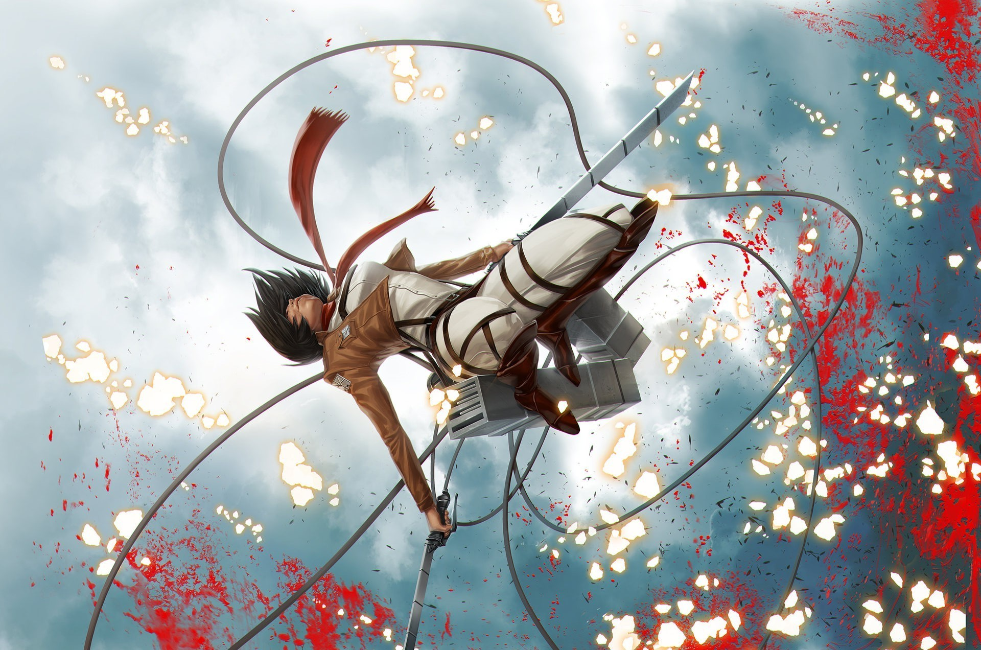 Attack On Titan Mikasa Ackerman Wallpapers (82+ Images