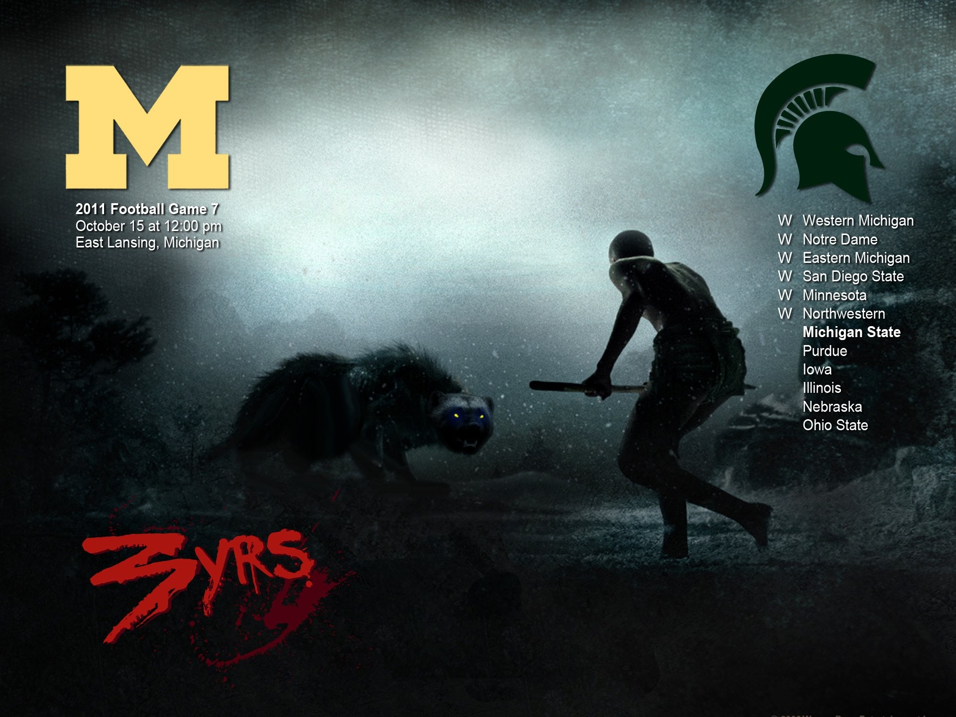 1920x1440 ... michigan football desktop wallpaper wallpapersafari; michigan state  spartans college football wallpaper  ...