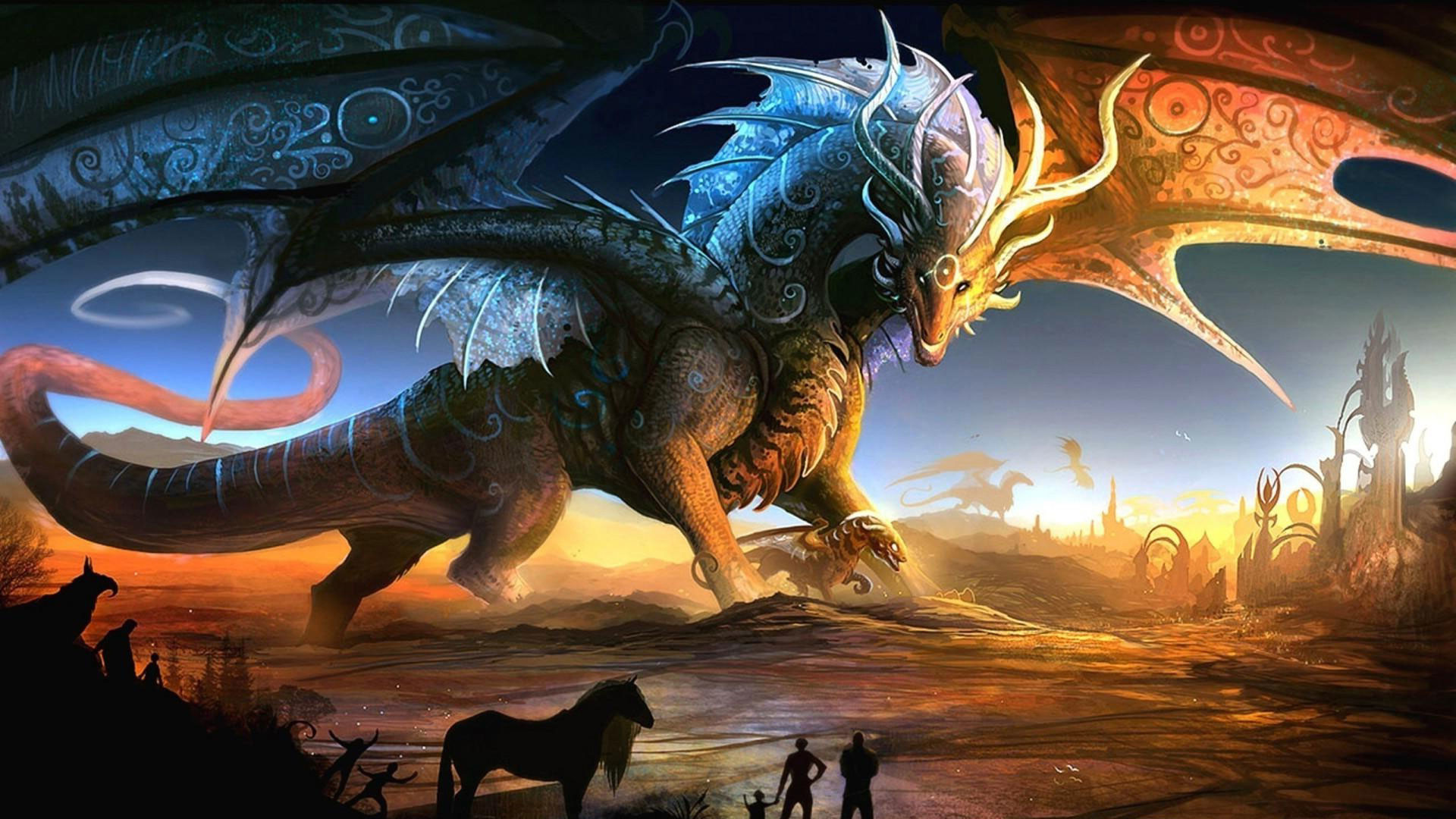 Cool 3d dragon wallpapers 55 images - Dragon backgrounds 1920x1080 ...