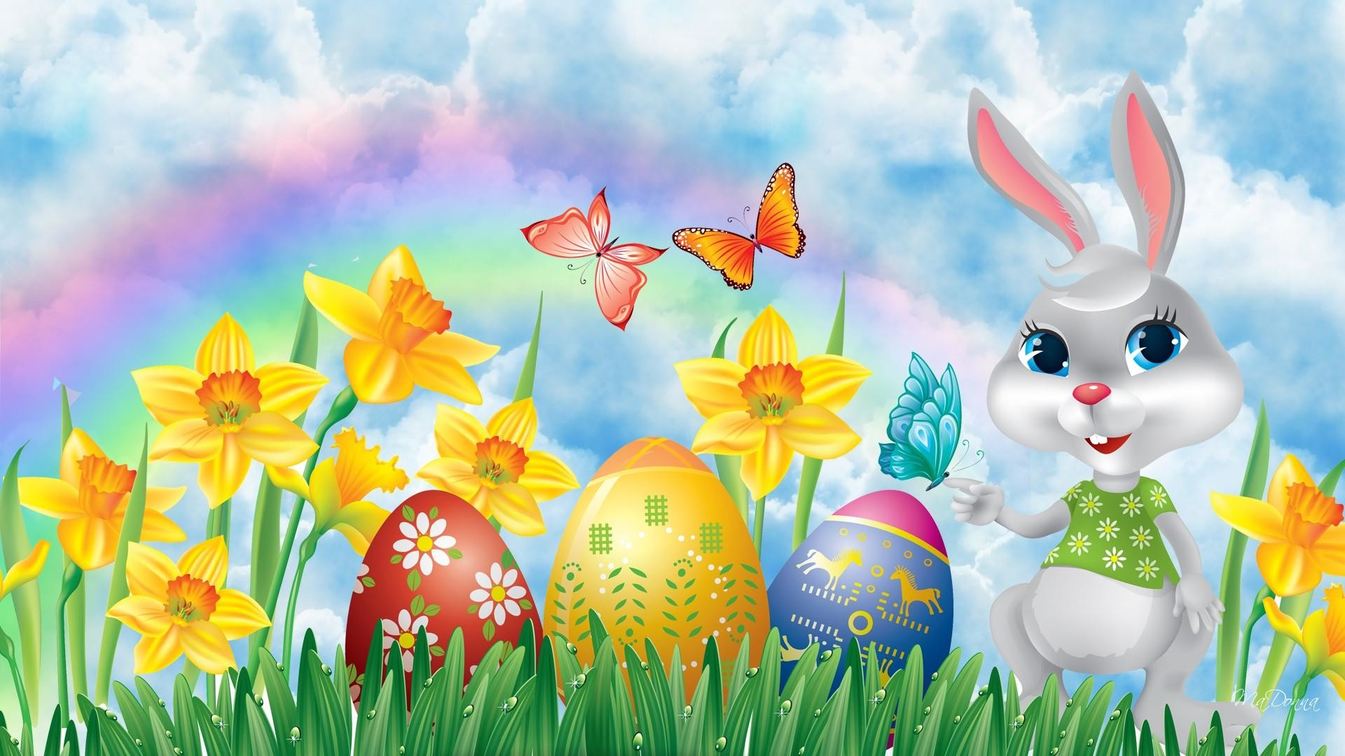 1920x1080 Easter Backgrounds Wallpaper (05)