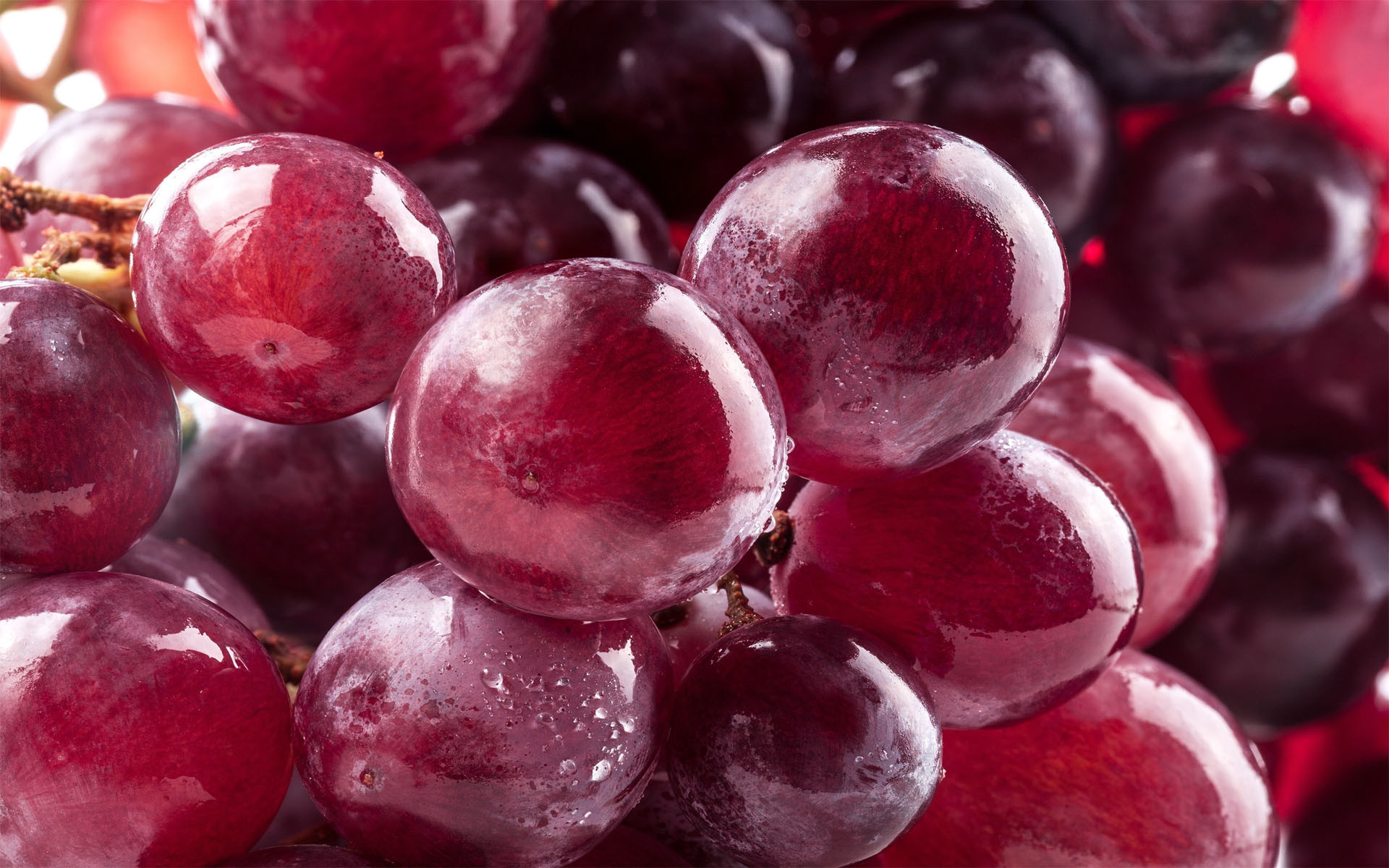1920x1200 Ripe & shiny grapes HD wallpaper