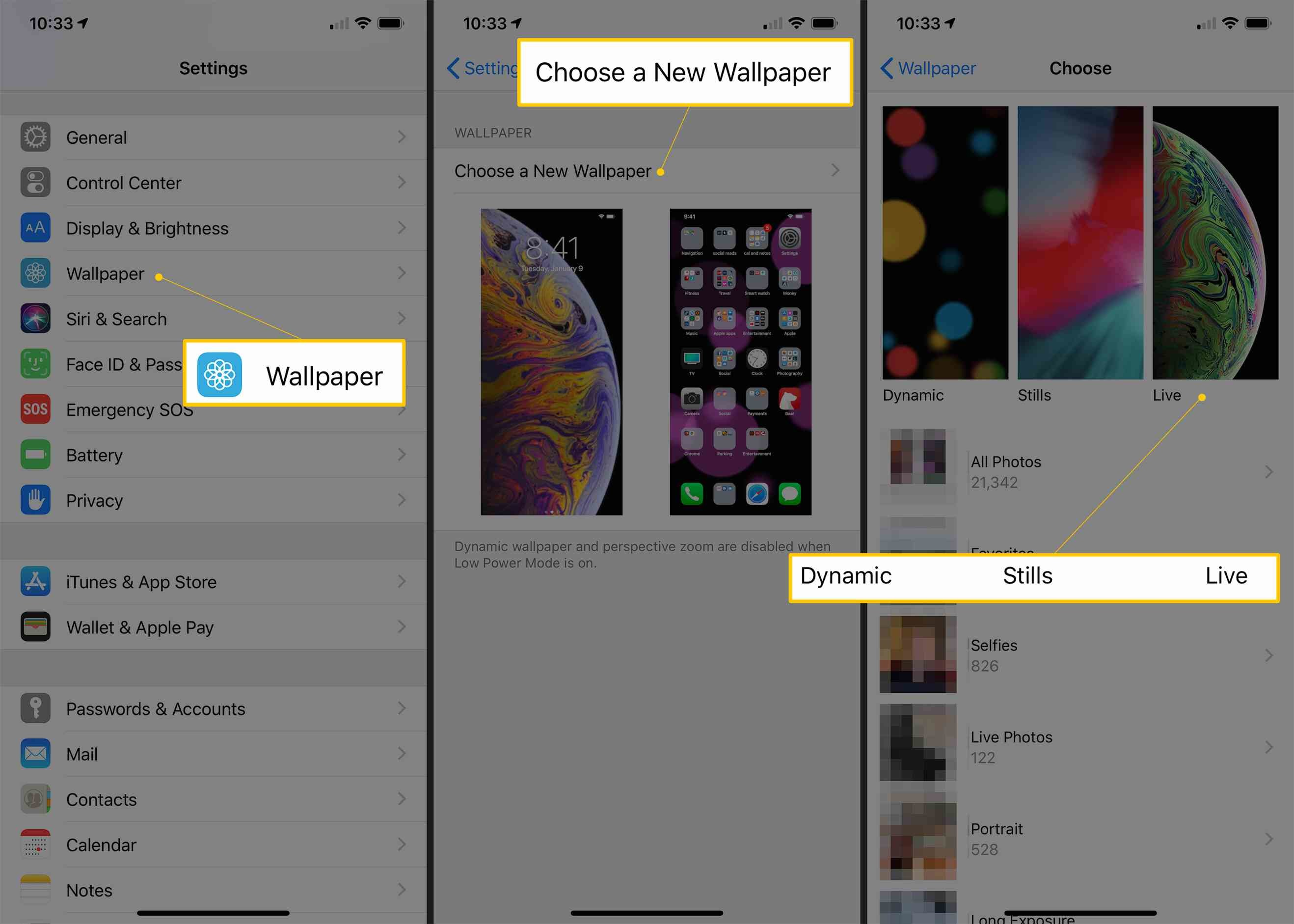 2636x1882 How to Set Live Wallpapers and Dynamic Wallpapers on the iPhone