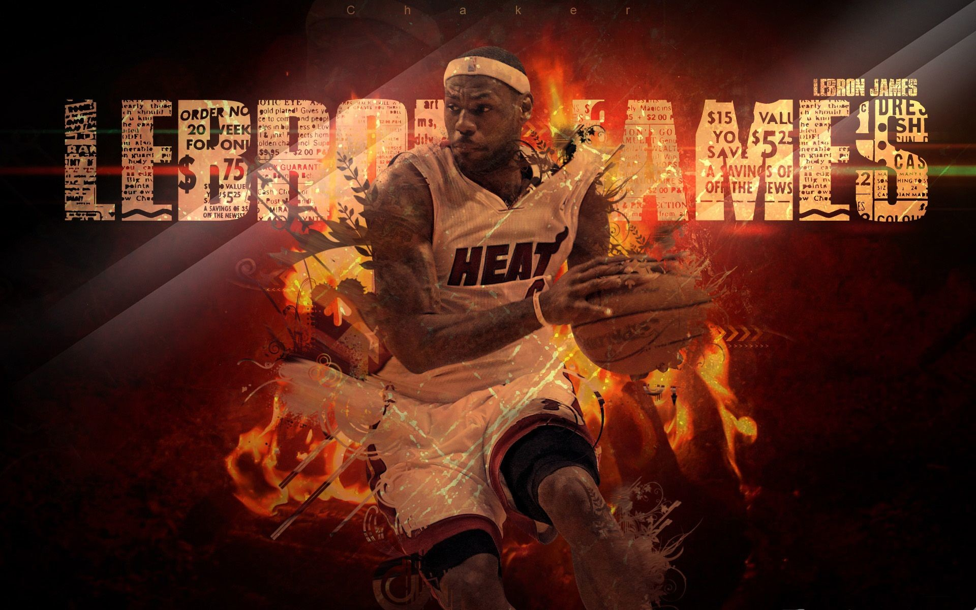 1920x1200 lebron james miami heat wallpapers hd background wallpapers free amazing  cool tablet smart phone high definition 1920×1200 Wallpaper HD