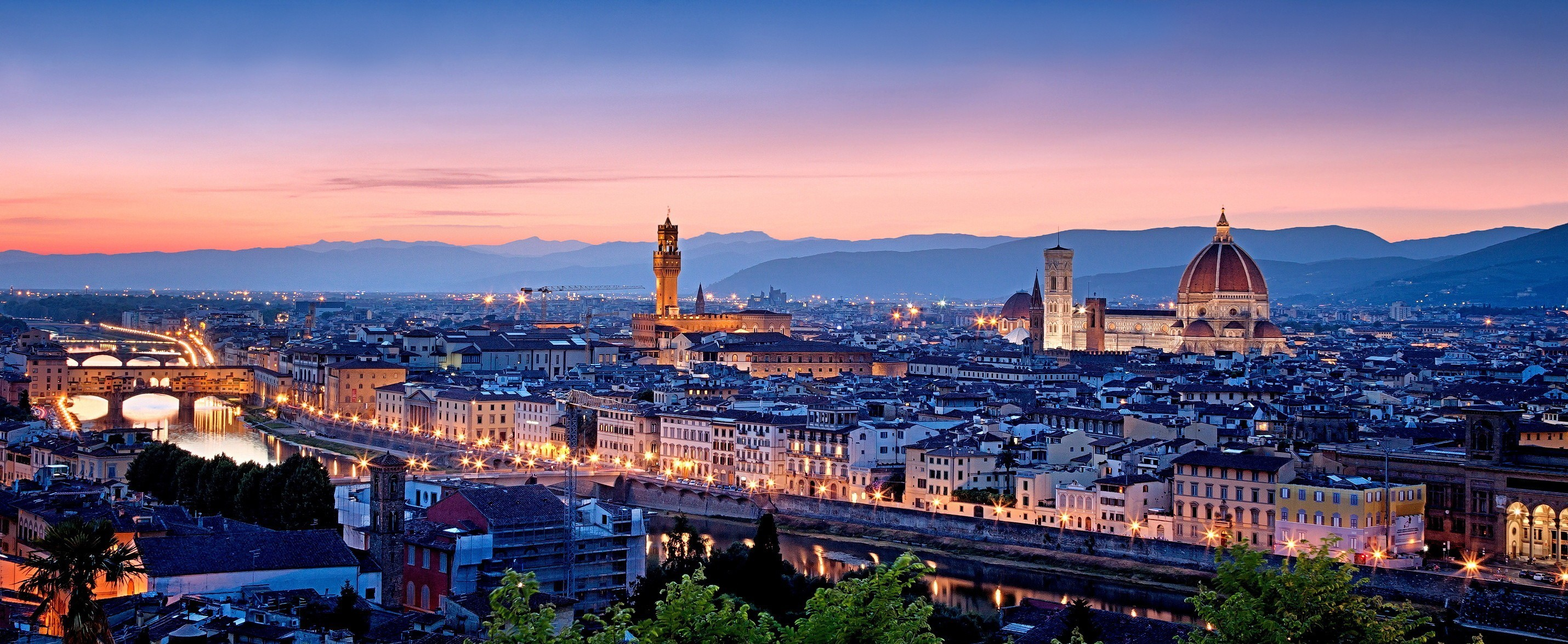 2860x1175 HD Wallpaper | Background Image ID:540256.  Man Made Florence