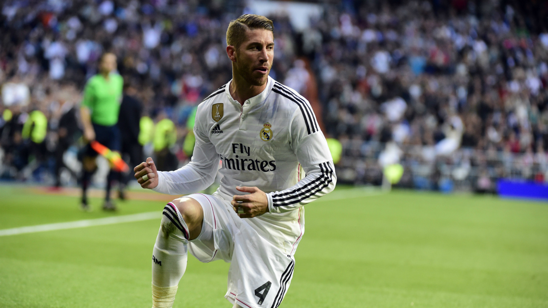 1920x1080 Initially starting out as a striker in his youth, Ramos began his Real  Madrid career as ...