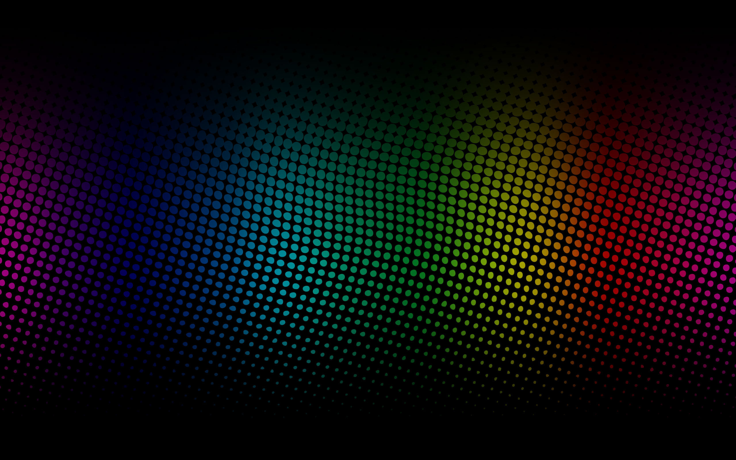 2560x1600 Black Rainbow HD Wallpaper 7 - 2560 X 1600