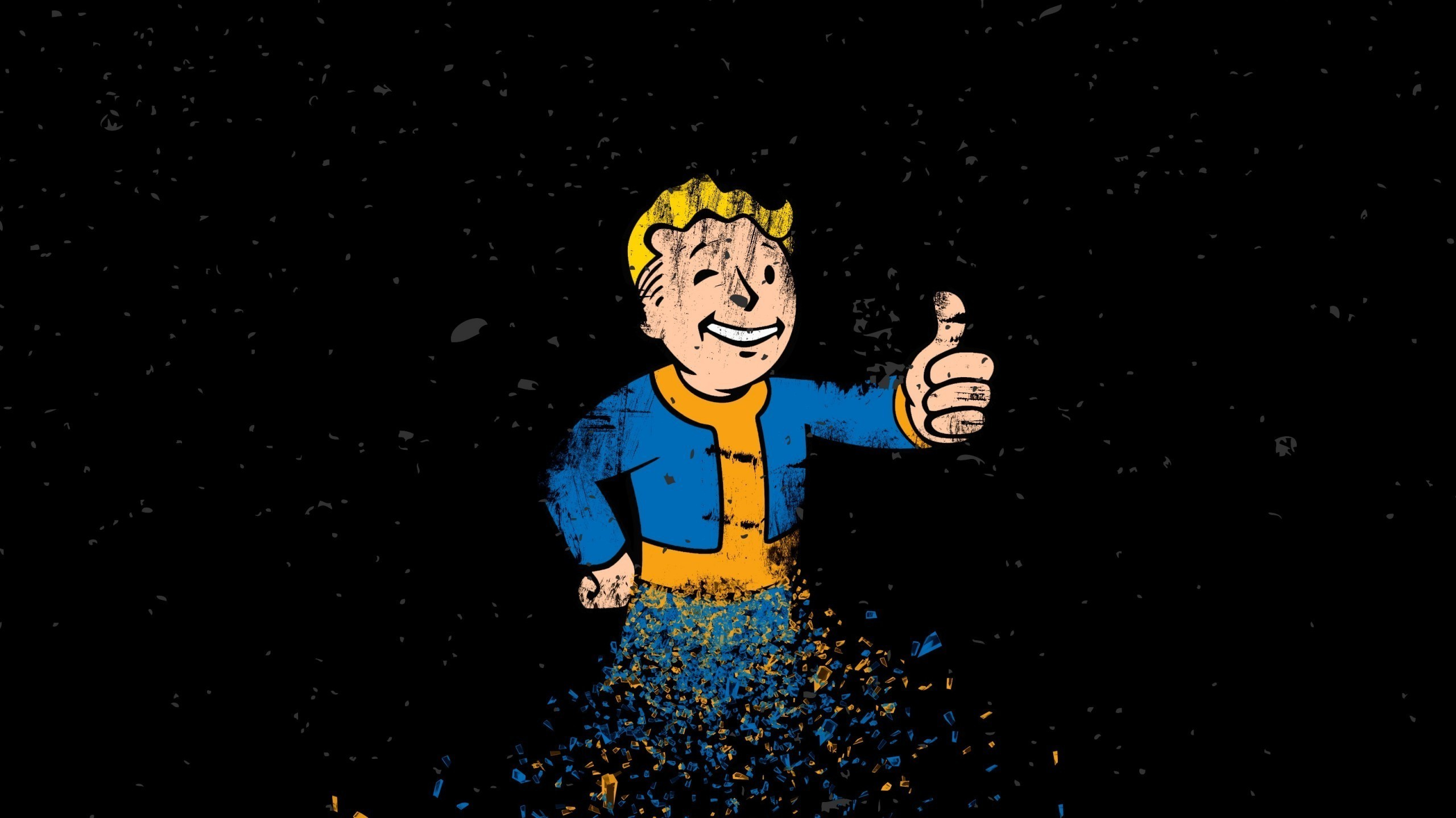 2560x1440 Vault Boy, Video Games, Fallout 4 Wallpapers HD / Desktop and Mobile  Backgrounds