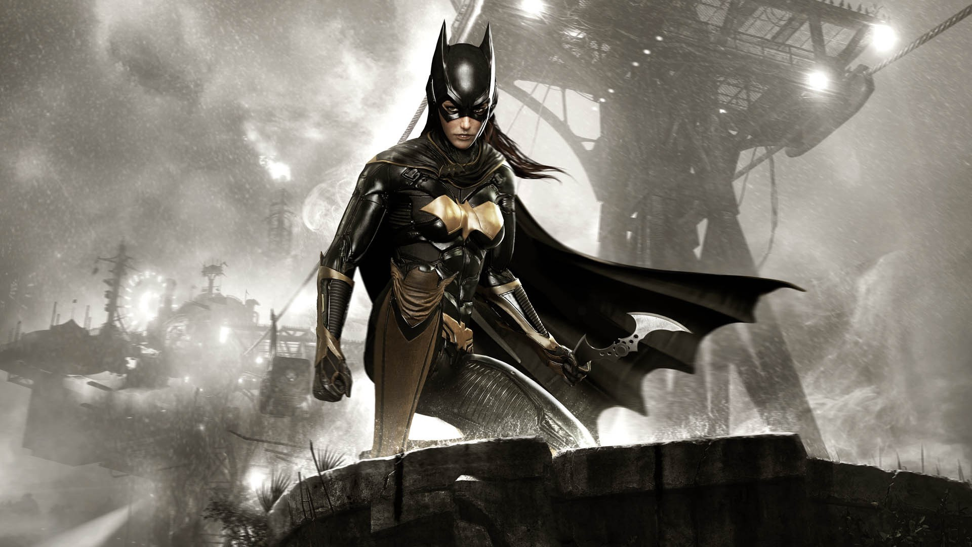 1920x1080 Batman Arkham Knight Batgirl