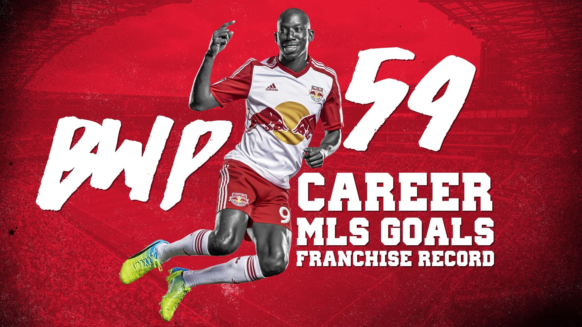 1920x1080 GOAL: Bradley Wright-Phillips Makes History vs. Montreal. New York Red Bulls