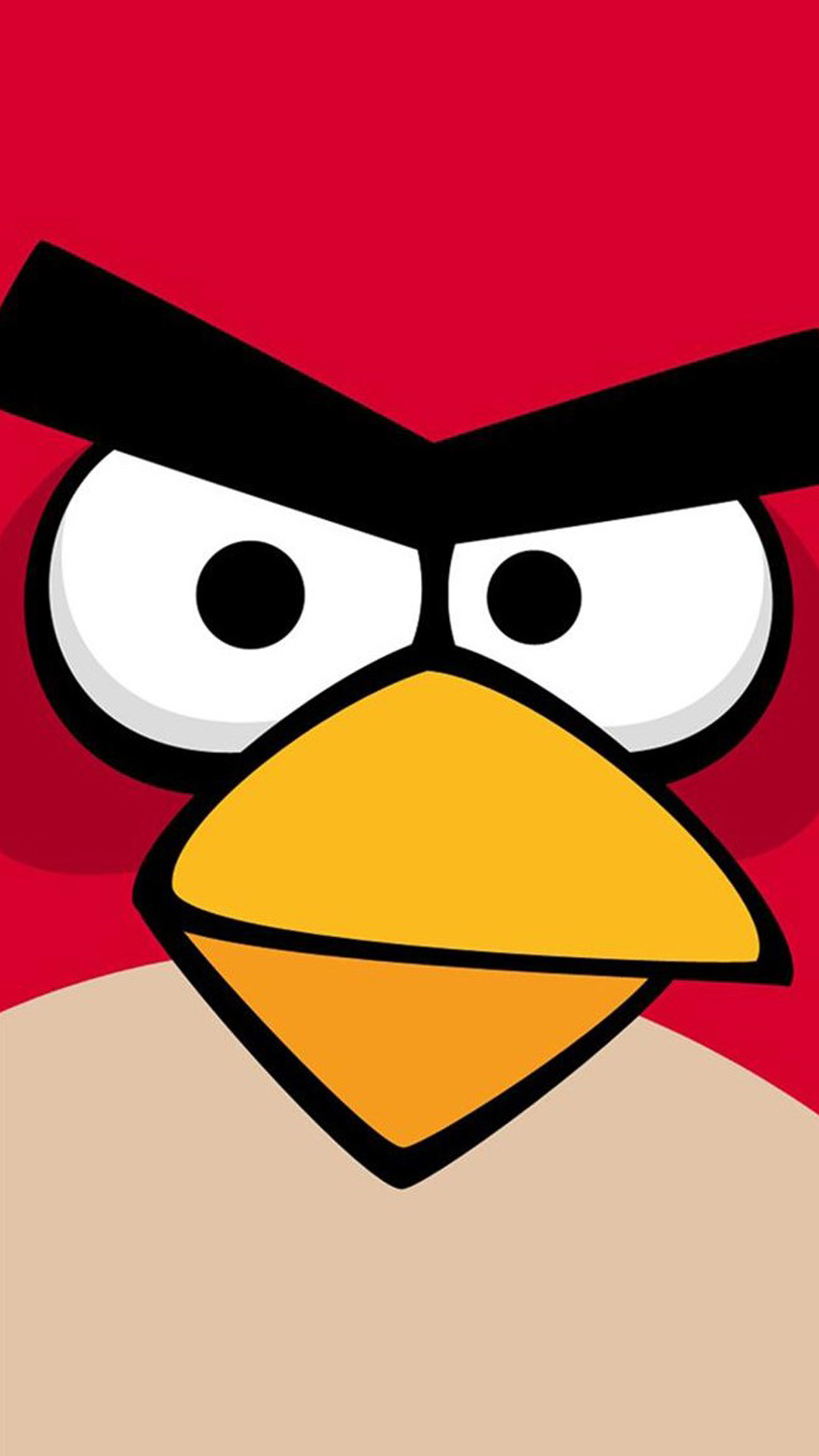 1080x1920 Angry Bird Game Background #iPhone #6 #plus #wallpaper