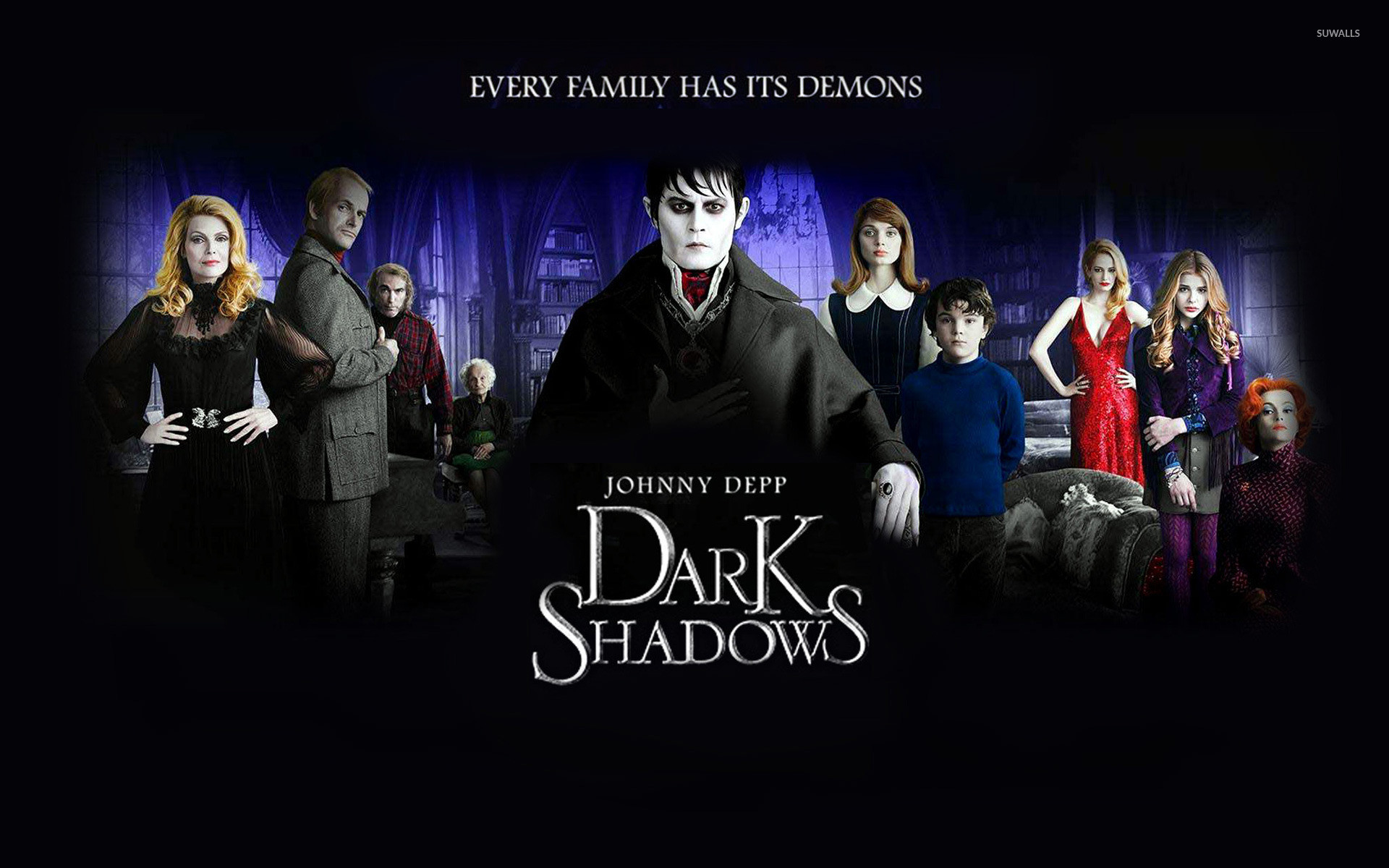 1920x1200 Dark Shadows wallpaper