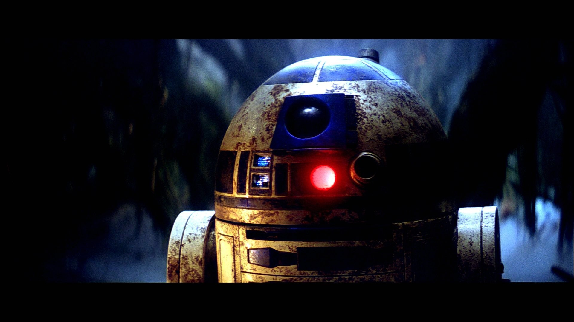 1920x1080 HD R2-D2 - Dagobah Swamp - Return of the Jedi