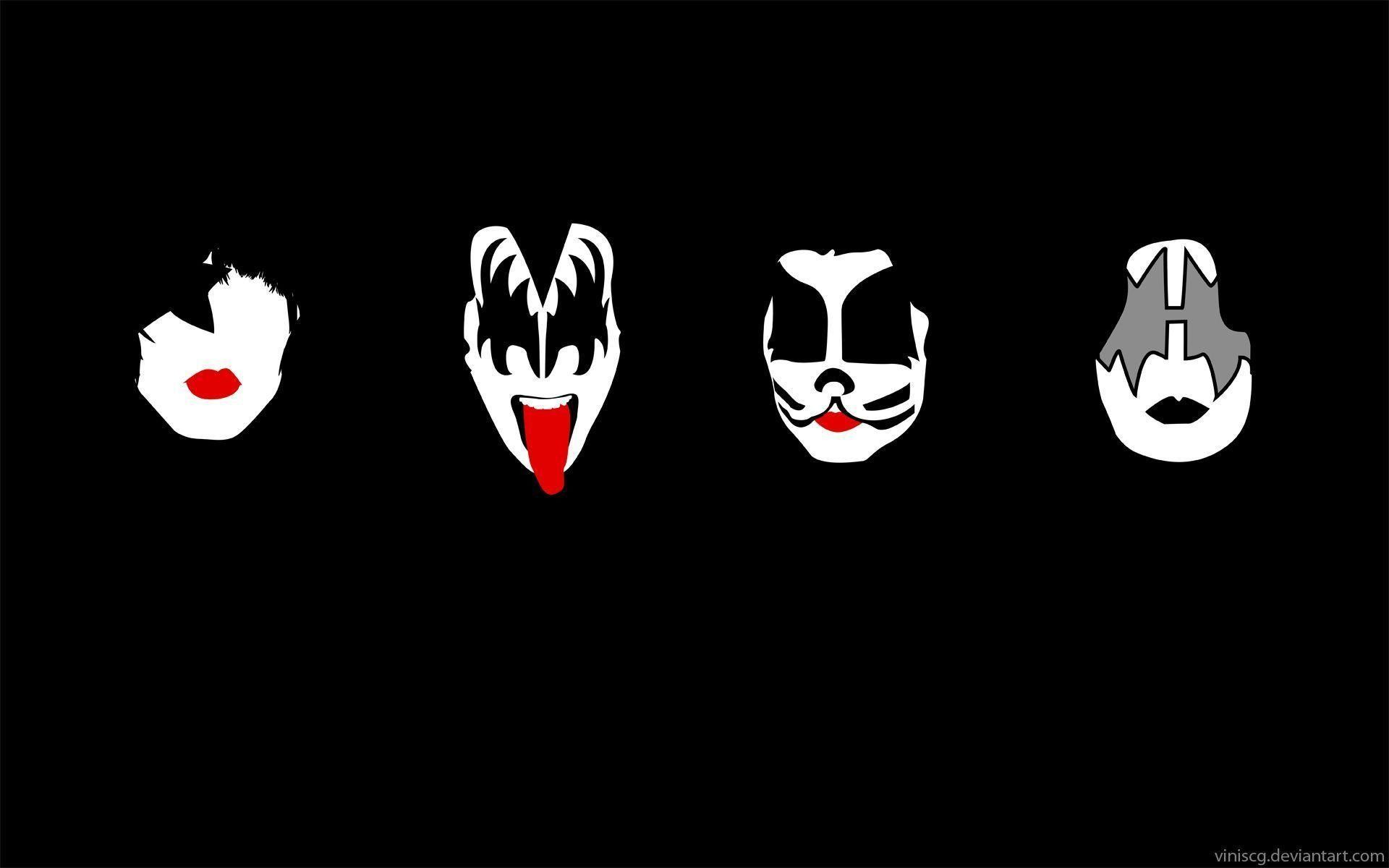 rock band kiss wallpapers (48+ images)