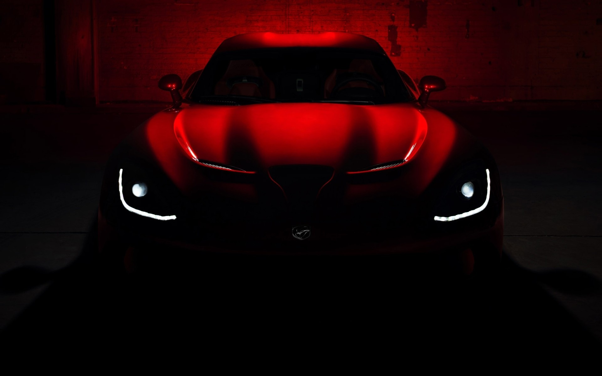1920x1200 Dodge SRT Viper GTS vehicles cars concept red glow dark lights supercar  wallpaper |  | 26456 | WallpaperUP
