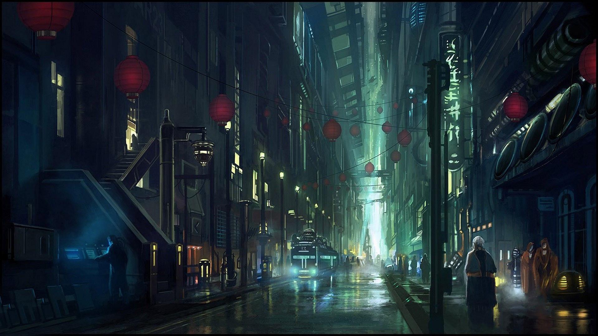 Futuristic City Wallpaper 1920x1080 75 Images