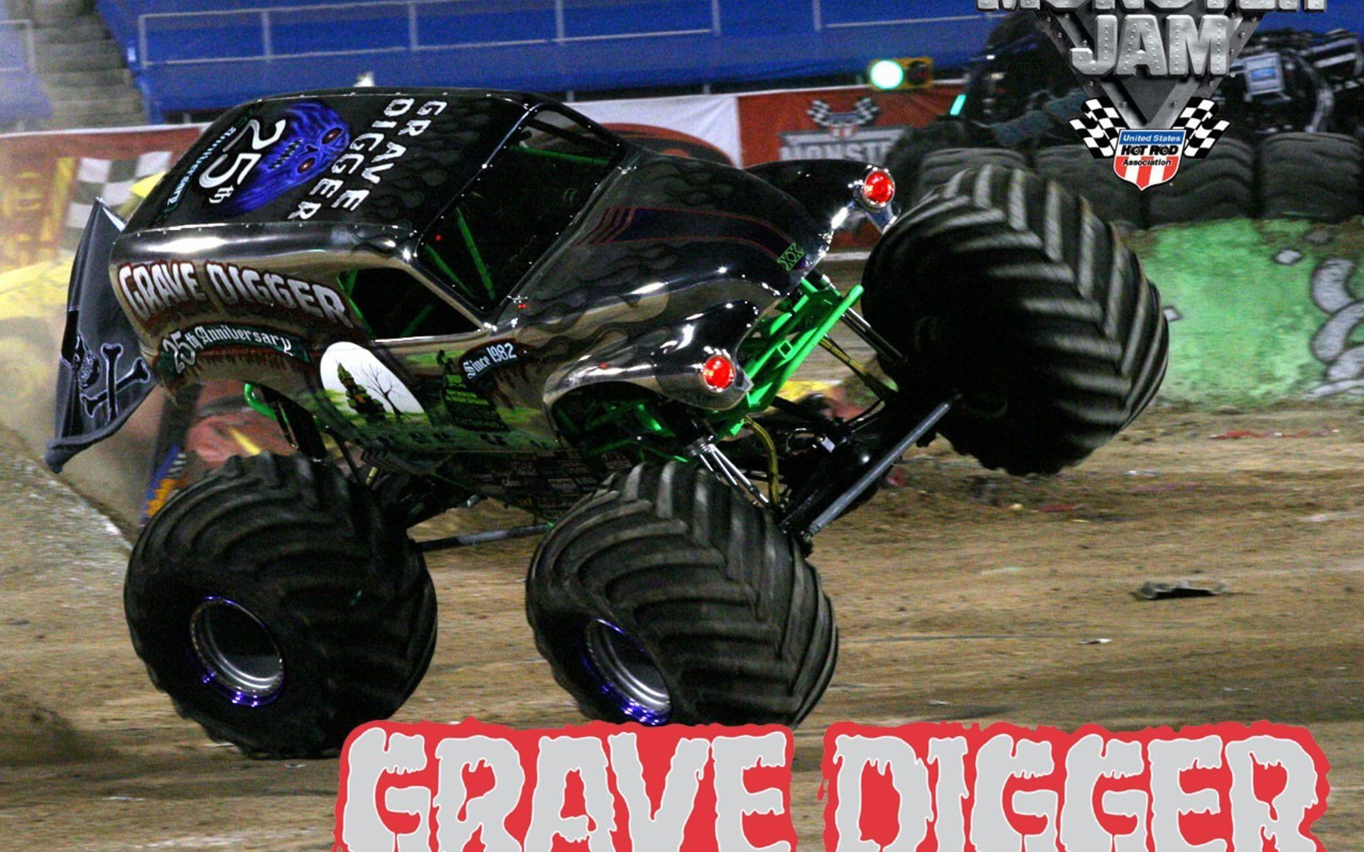 Grave Digger Monster Truck Wallpaper 54 Images