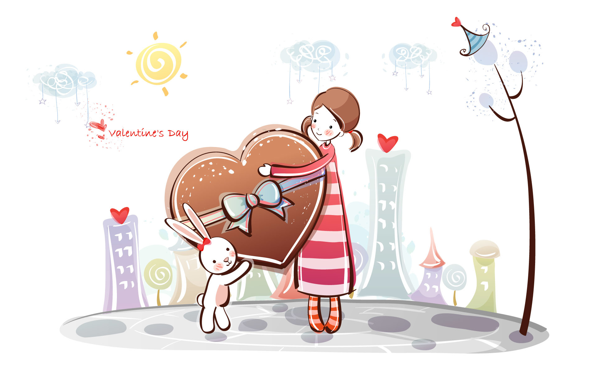 1920x1200 Cute Couple Reading Valentines Day Letters. | Romantic Valentine's Day  Wallpapers | Pinterest | Wallpaper