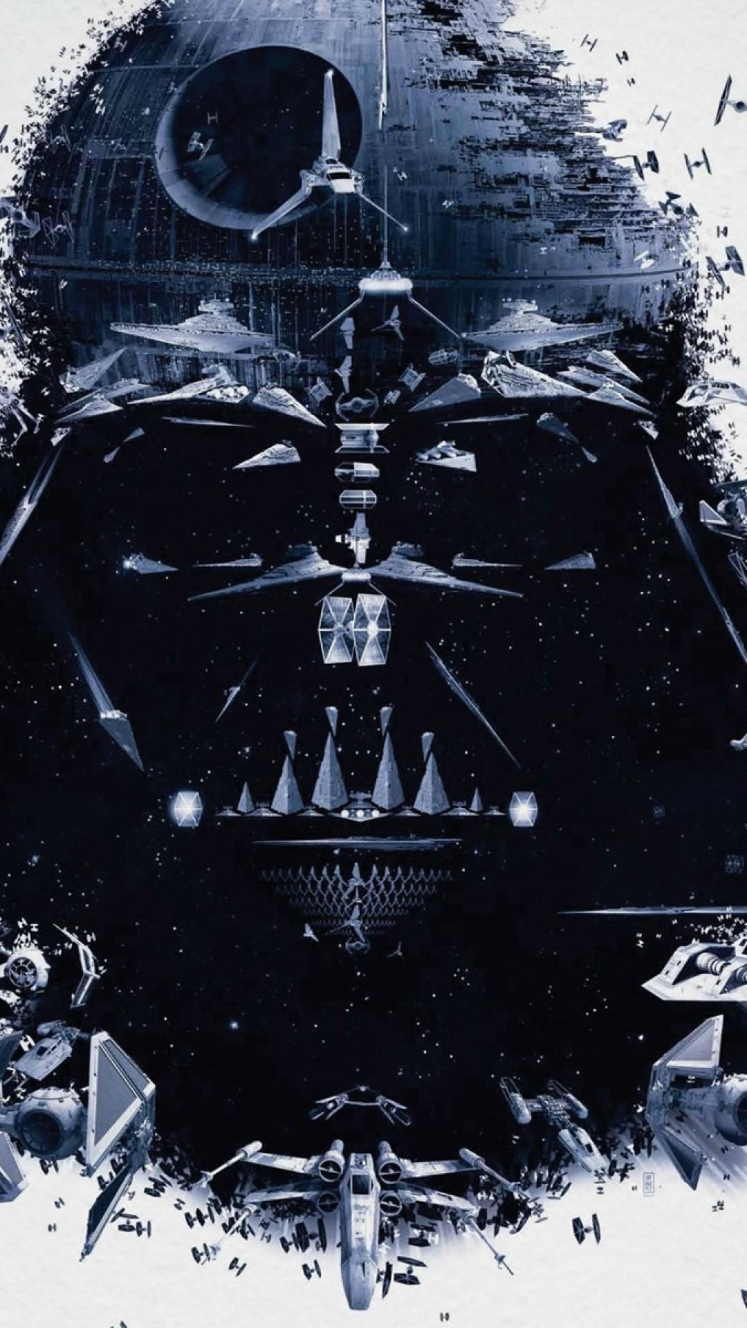 1080x1920 Star Wars Darth Vader Spaceships iPhone 6 Plus HD Wallpaper .