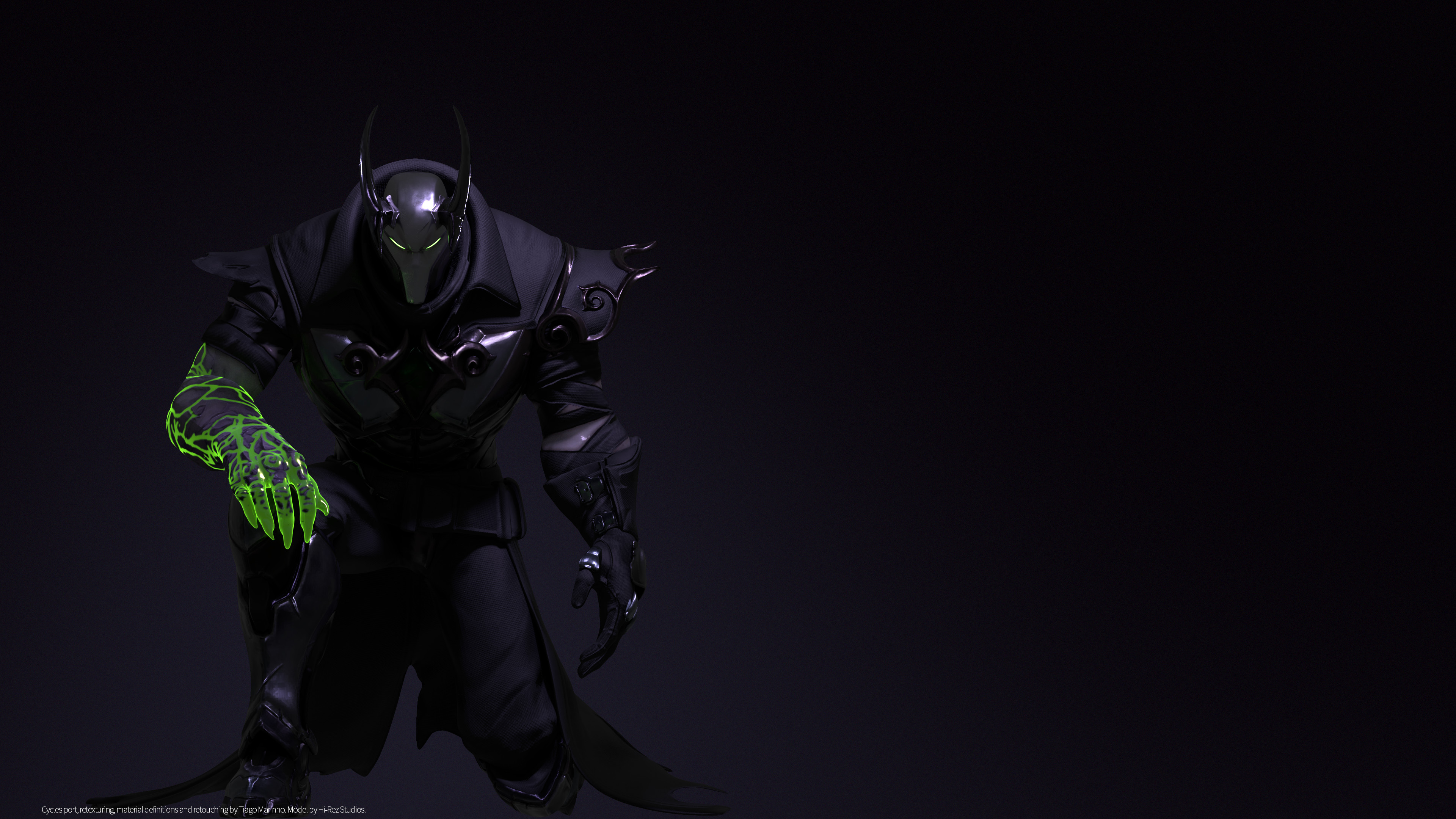 3840x2160 ART4K Ray-Traced Androxus Wallpaper by tiagomeraki ...