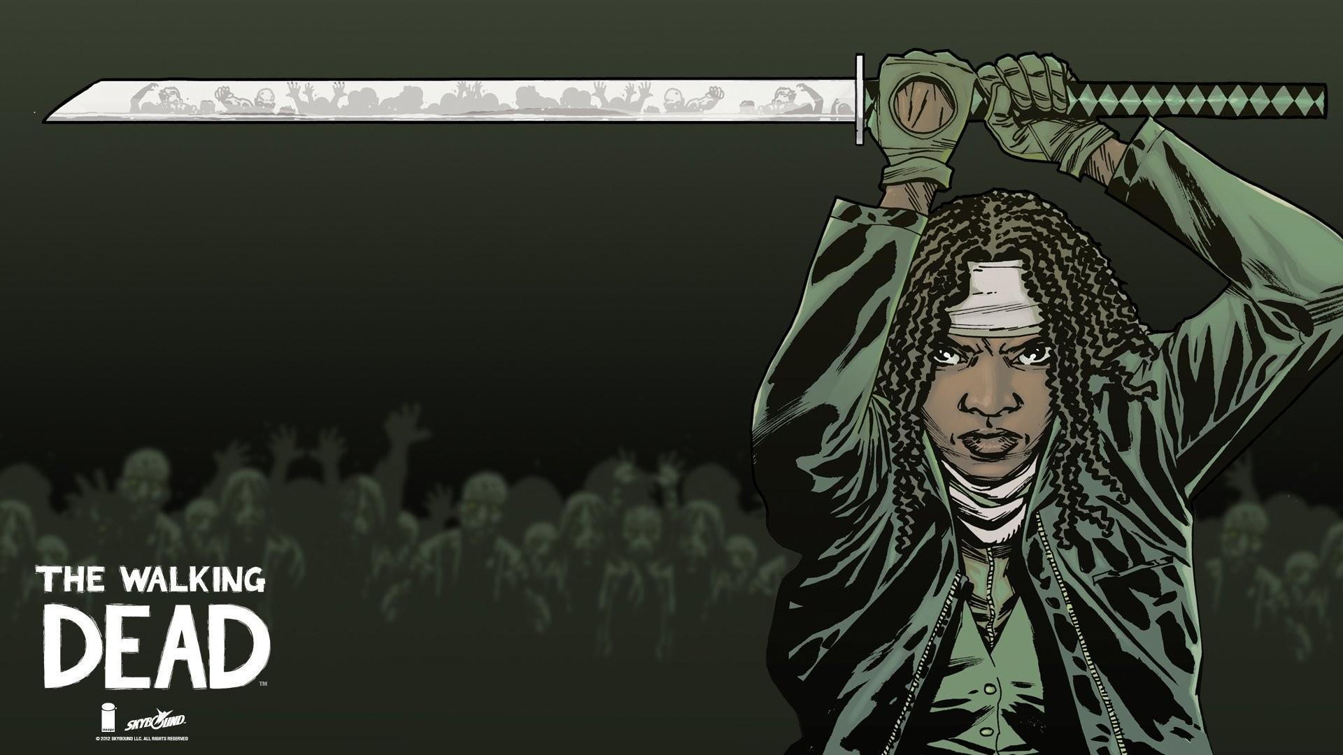 2916x1456 The Walking Dead Desktop Wallpaper