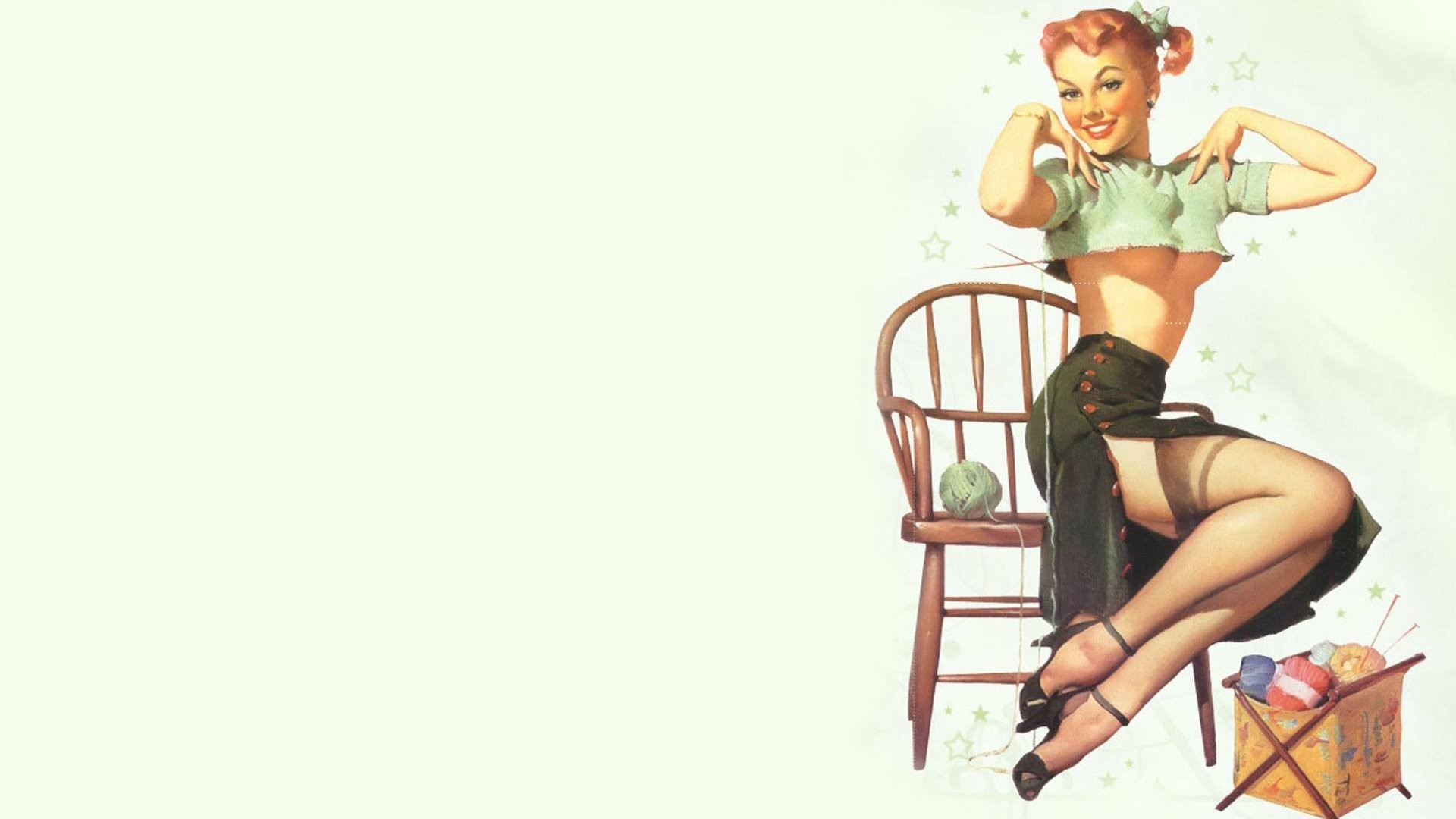 Pin Up Girls Hd Wallpaper 67 Images