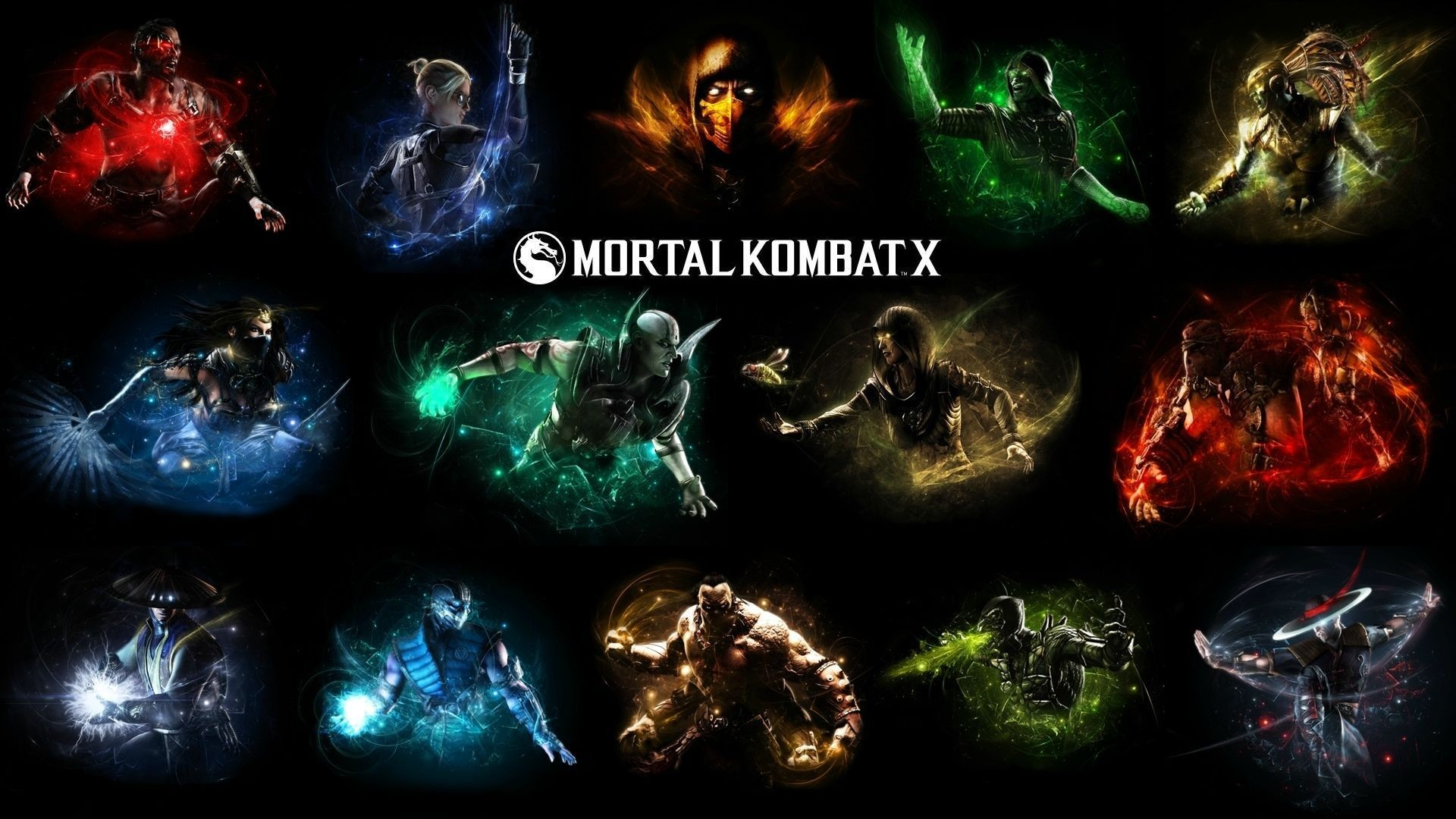 1920x1080 Mortal Kombat Logo HD Wallpaper 32 - 1920 X 1080