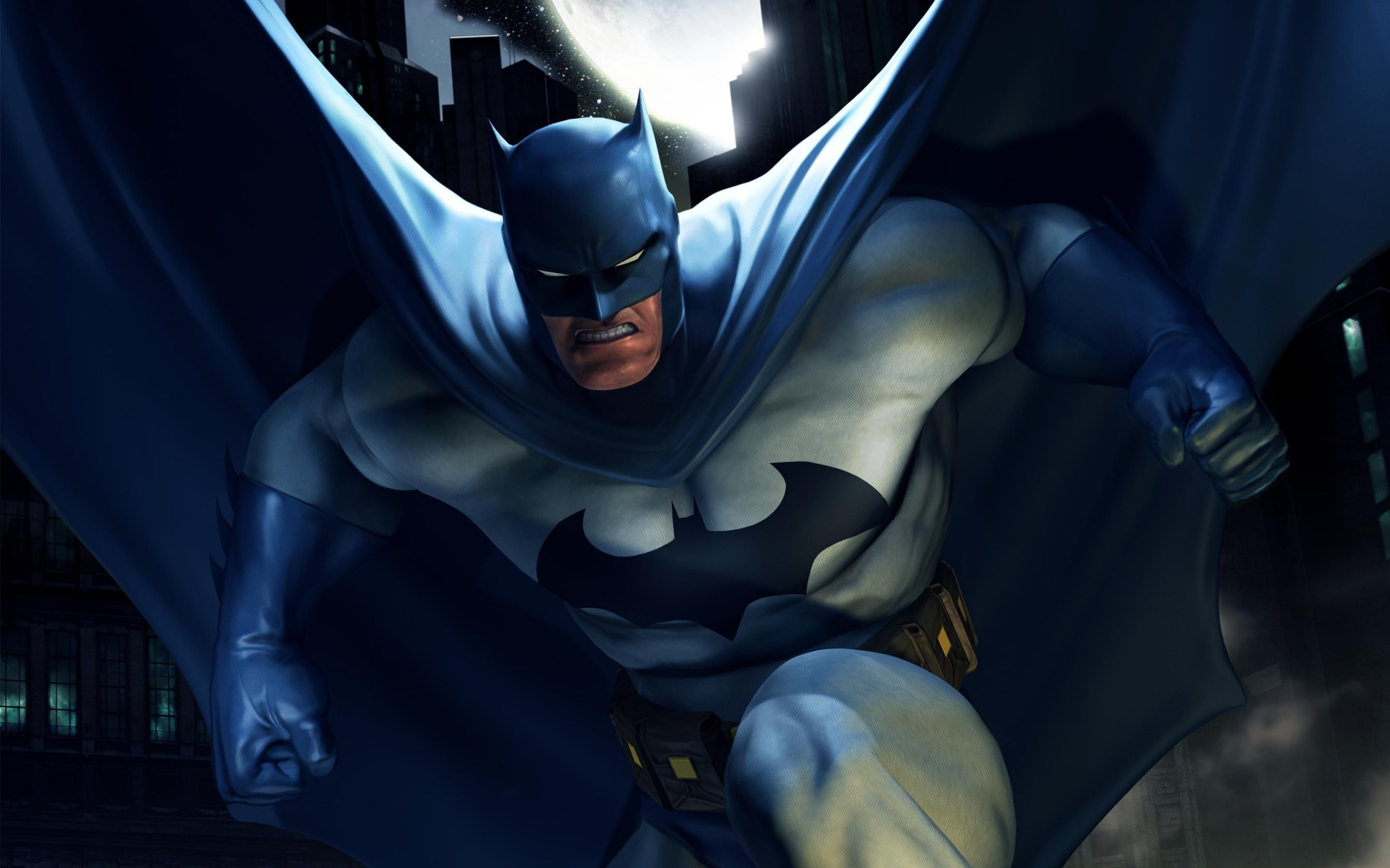 2560x1600 Preview wallpaper batman, superhero, dc comics