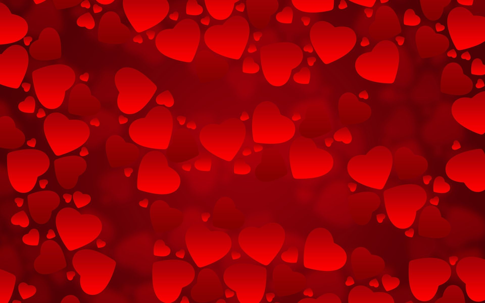 1920x1200 3D Hearts Wallpaper. Â«