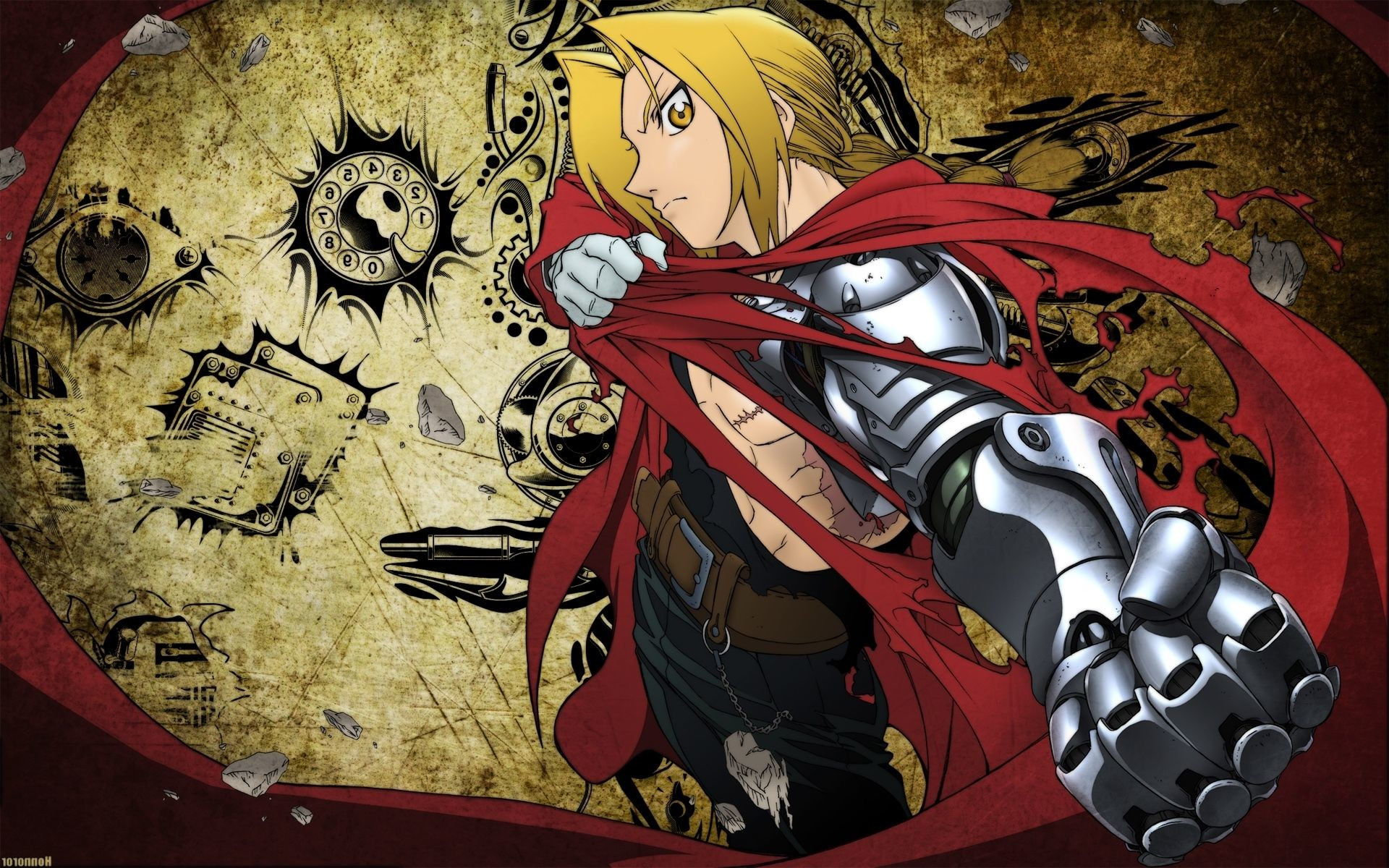 1920x1200 Fullmetal Alchemist Wallpaper Full Hd - WALLPAPER HD
