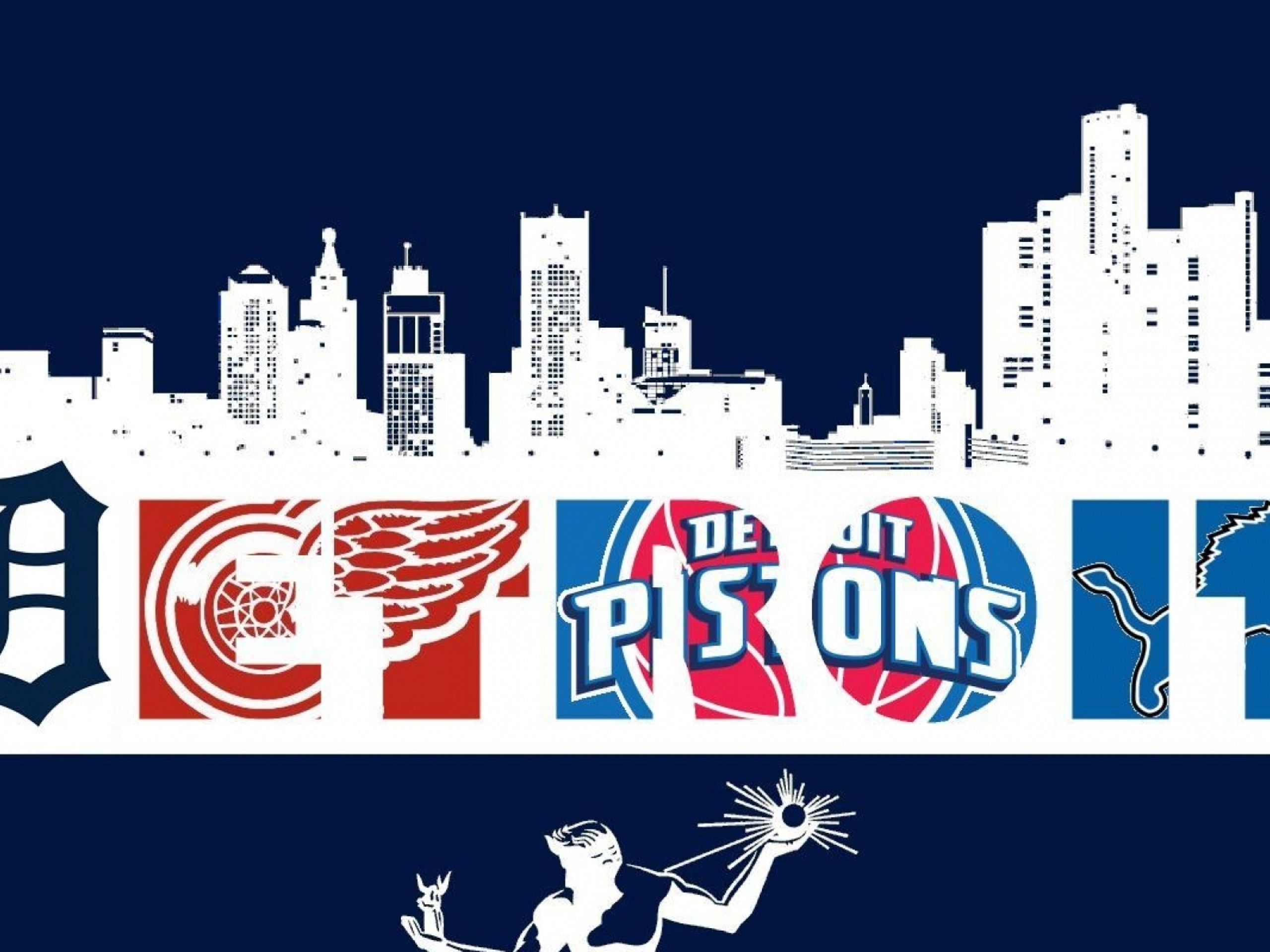 2560x1920 ... Detroit Sports Desktop Wallpaper - WallpaperSafari ...