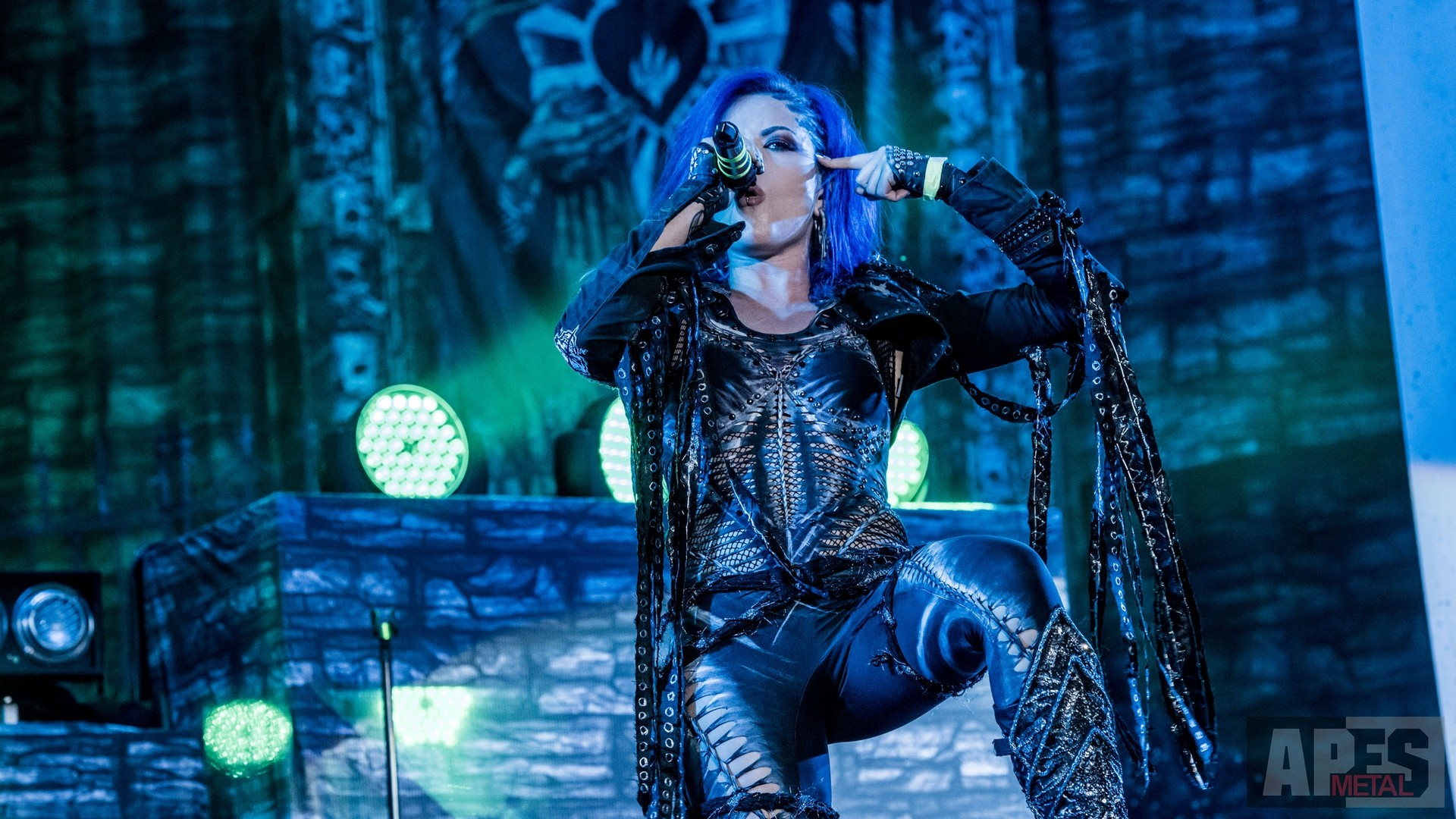 1920x1080 Arch Enemy DVD Recording Show auf dem Wacken Open Air 2016