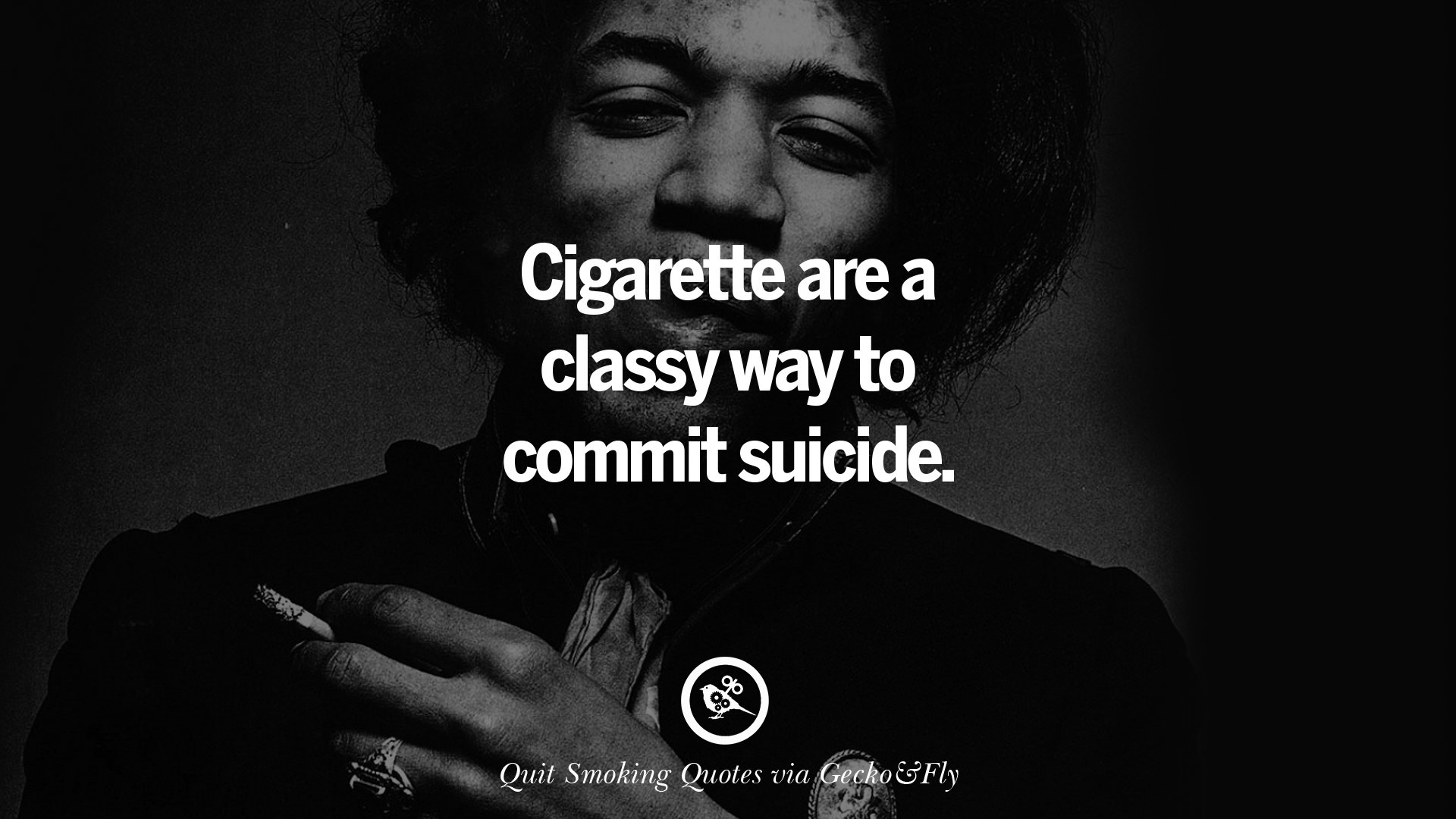 1920x1080 Cigarette are a classy way to commit suicide.