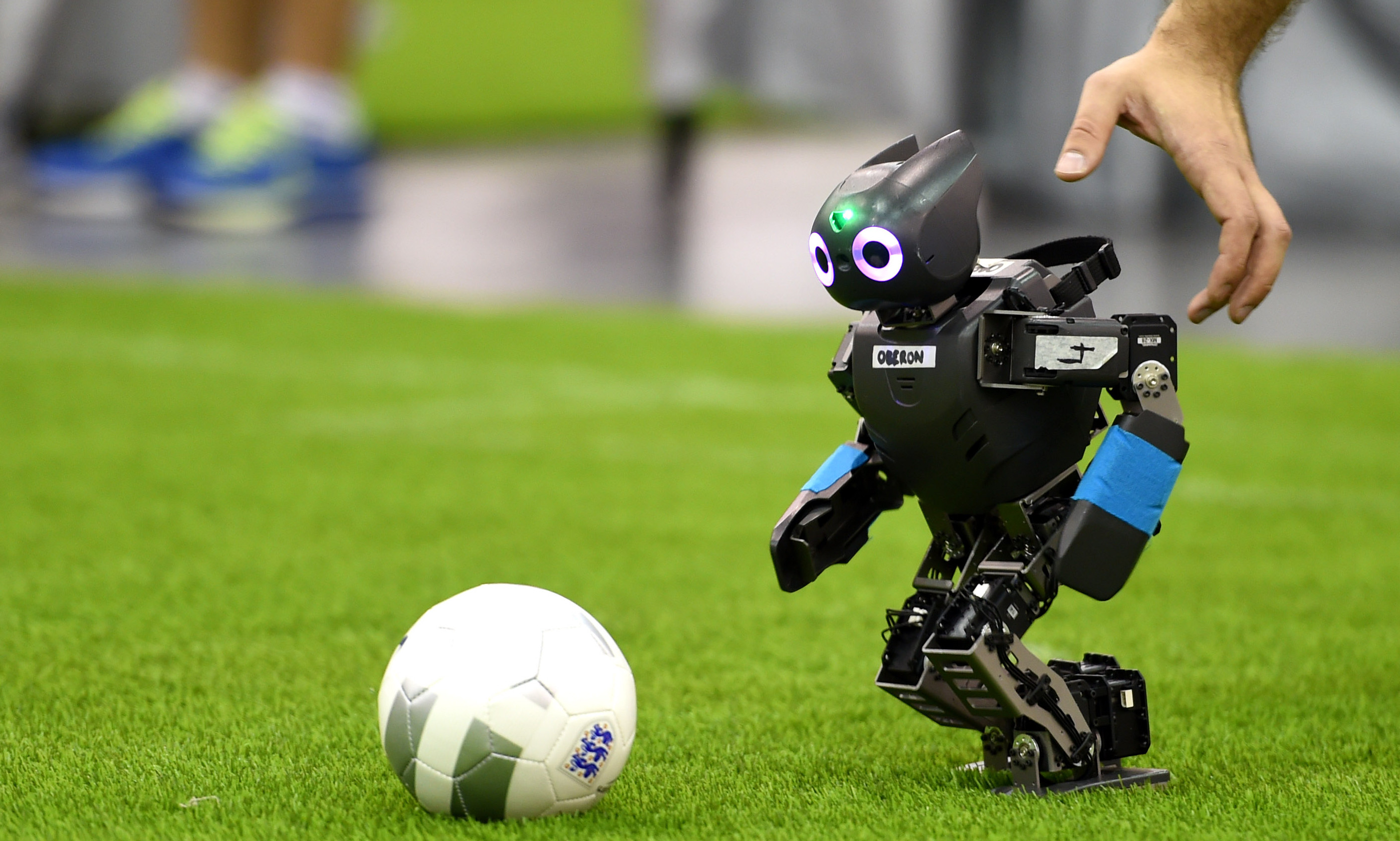 2794x1679 Technology - Robot Soccer Ball Wallpaper