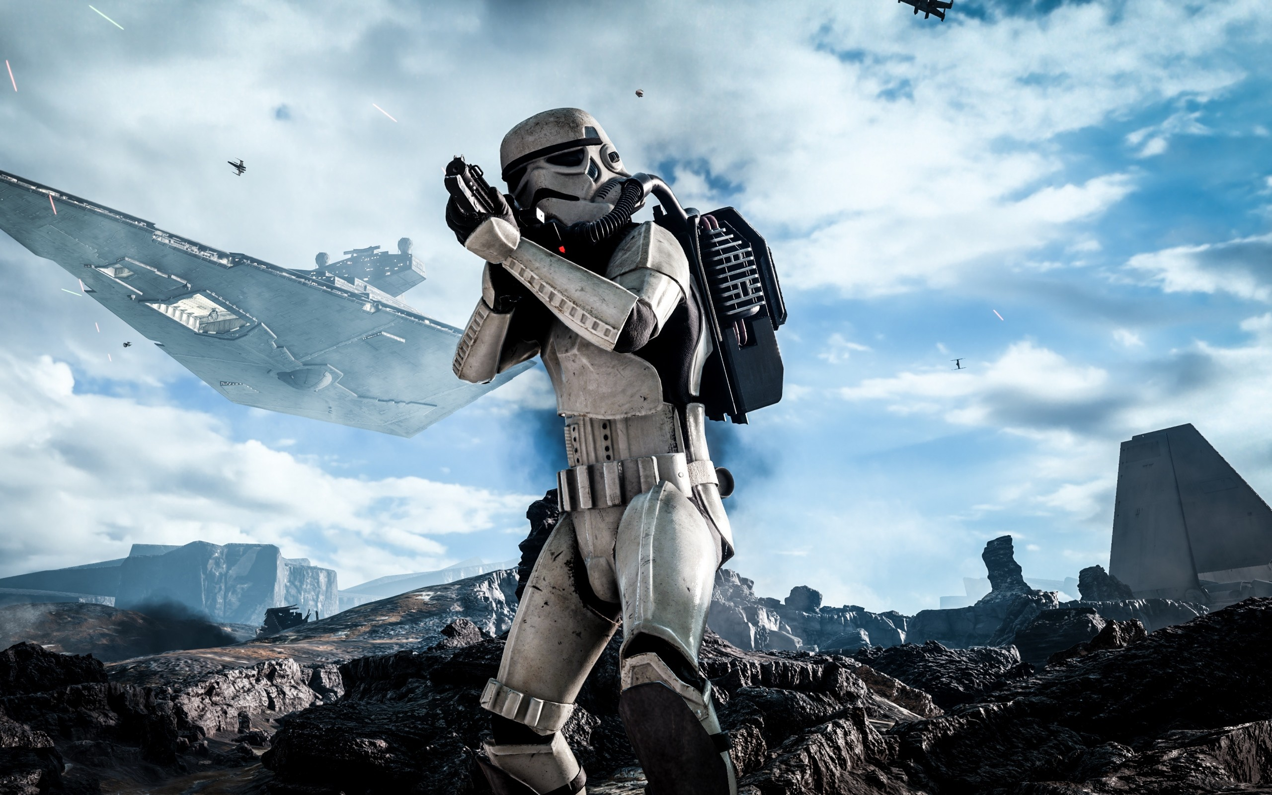 2560x1600  Wallpaper star wars, battlefront, electronic arts