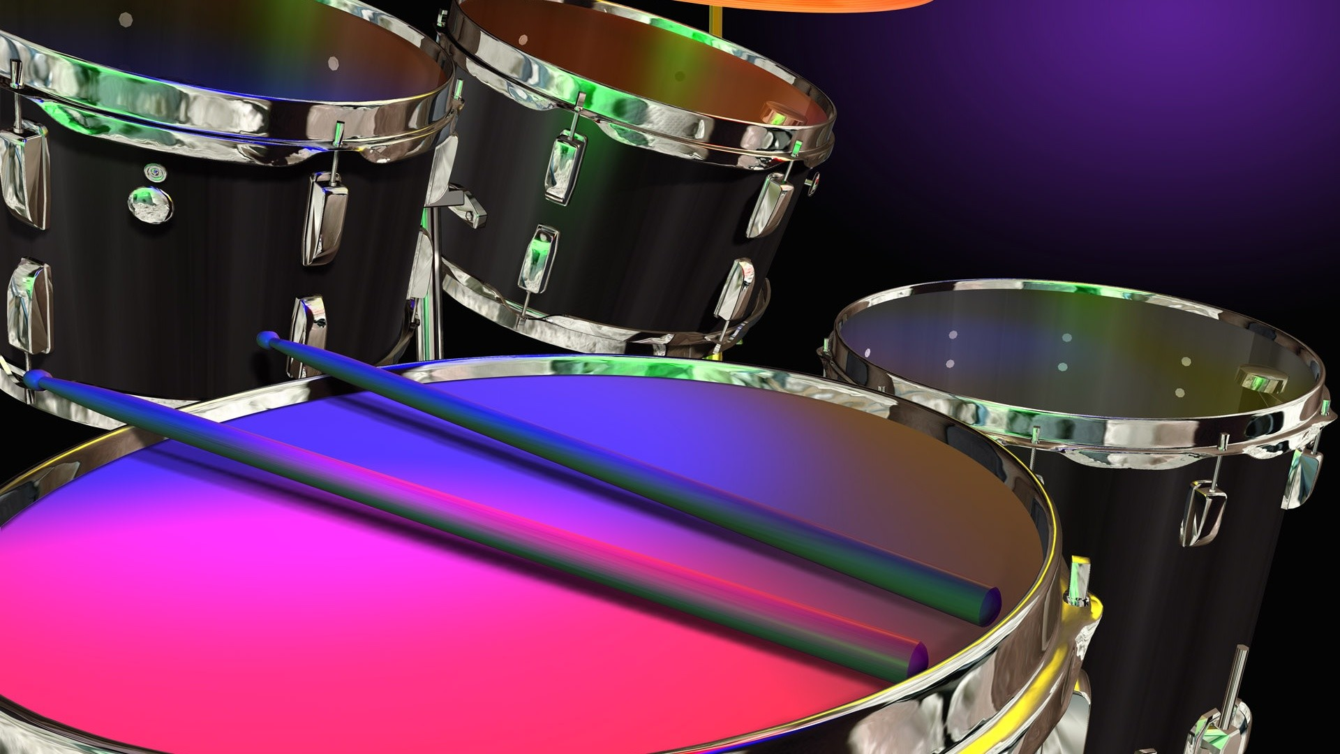 1920x1080  Drums in Color