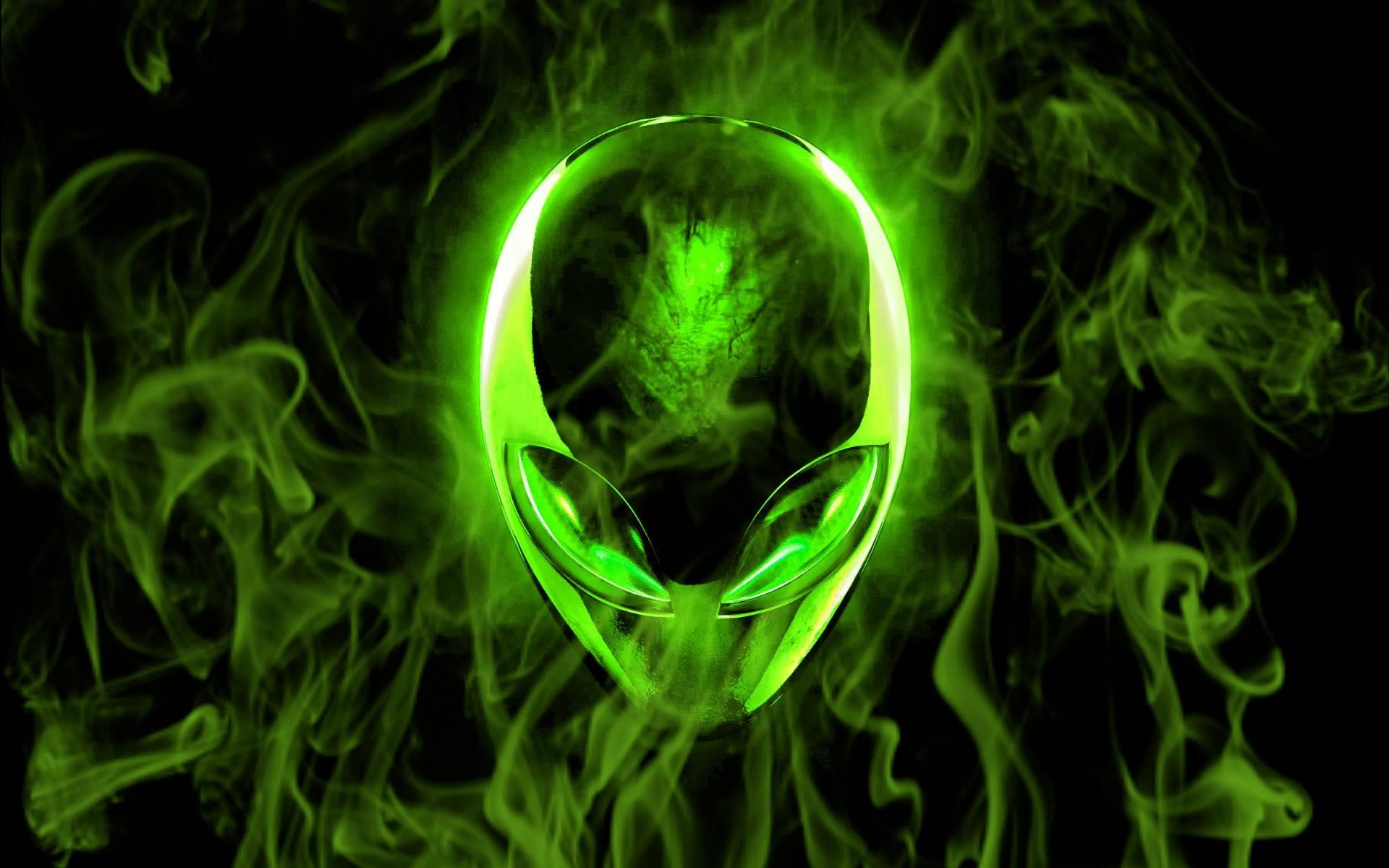1920x1200 Green Alien and Smoke HD Wallpaper | Hintergrund |  | ID:686986 -  Wallpaper Abyss
