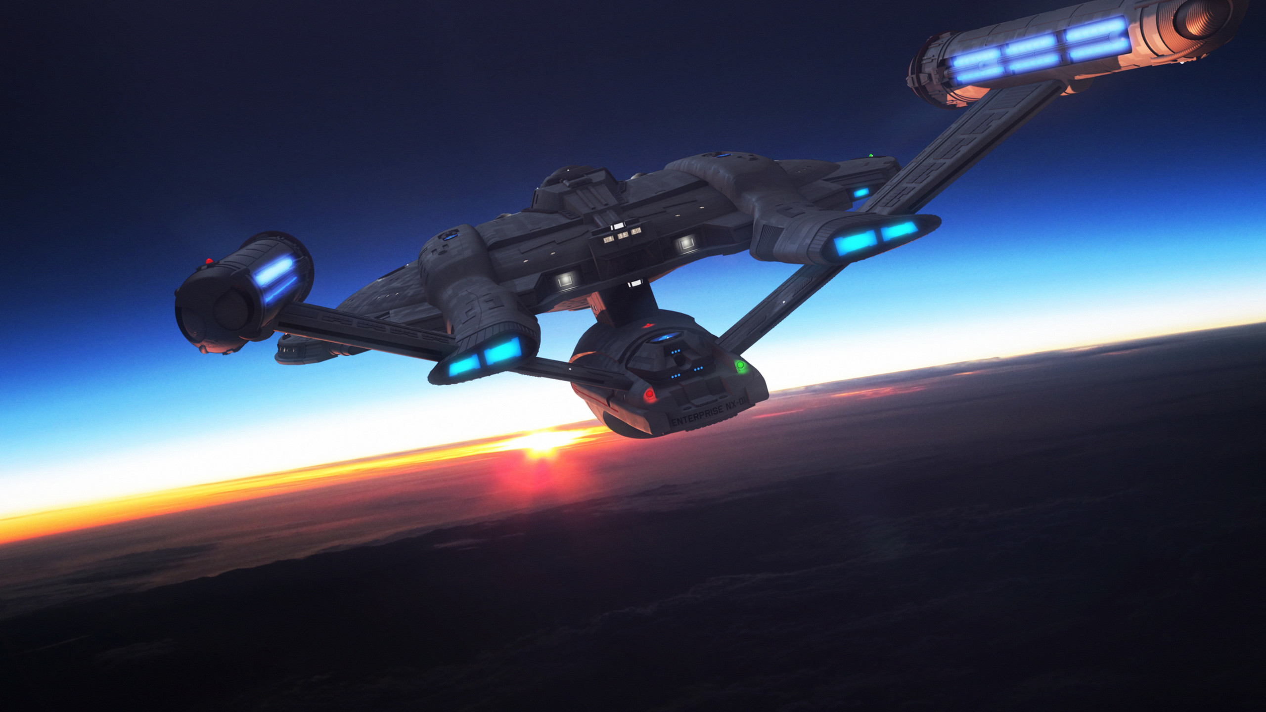 2560x1440 Star Trek USS Enterprise NX01. Free Star Trek computer desktop wallpaper,  images, pictures