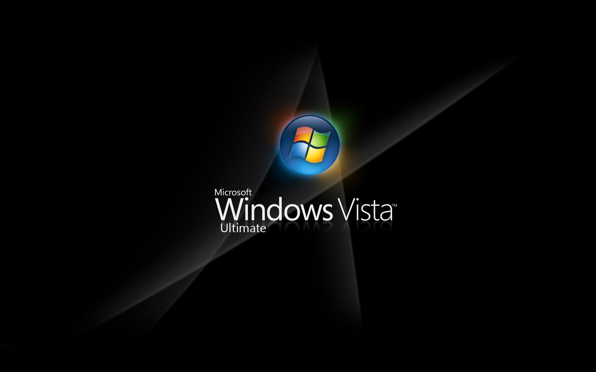 1920x1200 Windows Vista Logo