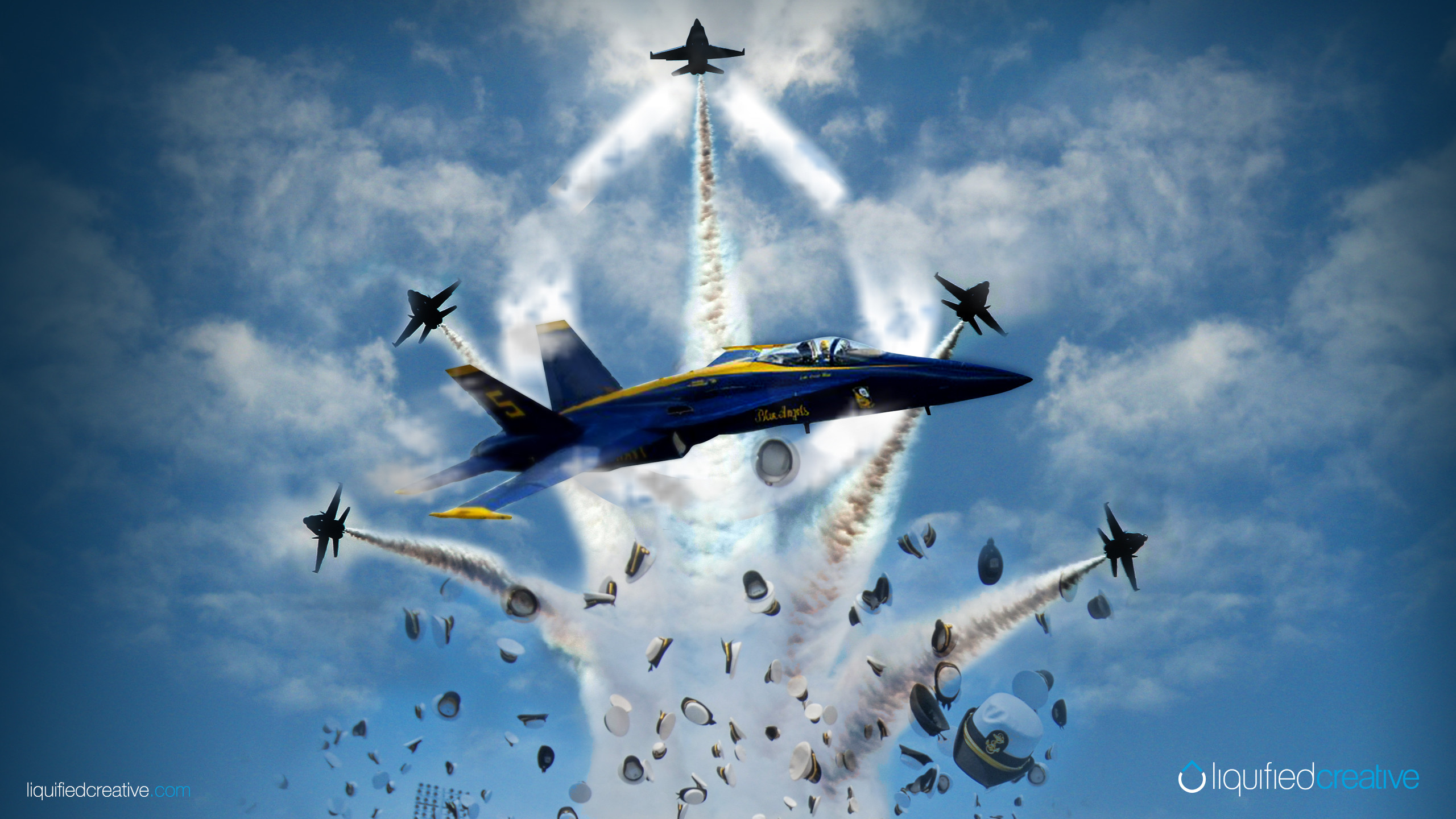 2560x1440 Previous Blue Angels/U.S. Naval Academy Graduation Screensavers