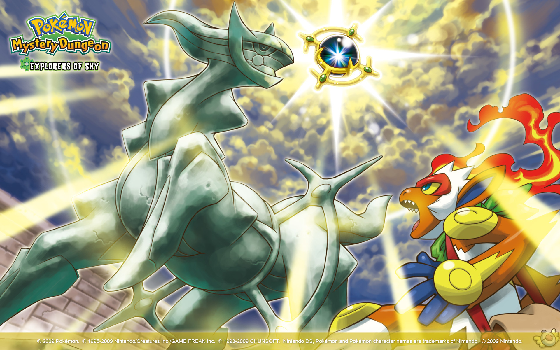 1920x1200  Pokémon Mystery Dungeon: Explorers of Sky Wallpaper 2