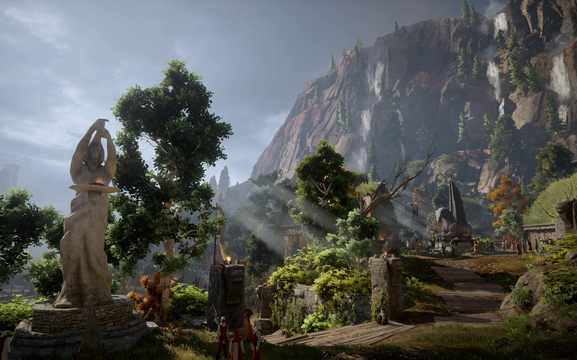 1920x1200 Animated Desktop Wallpaper of Inquisition at Dragon Age: Inquisition Nexus  - Mods and community
