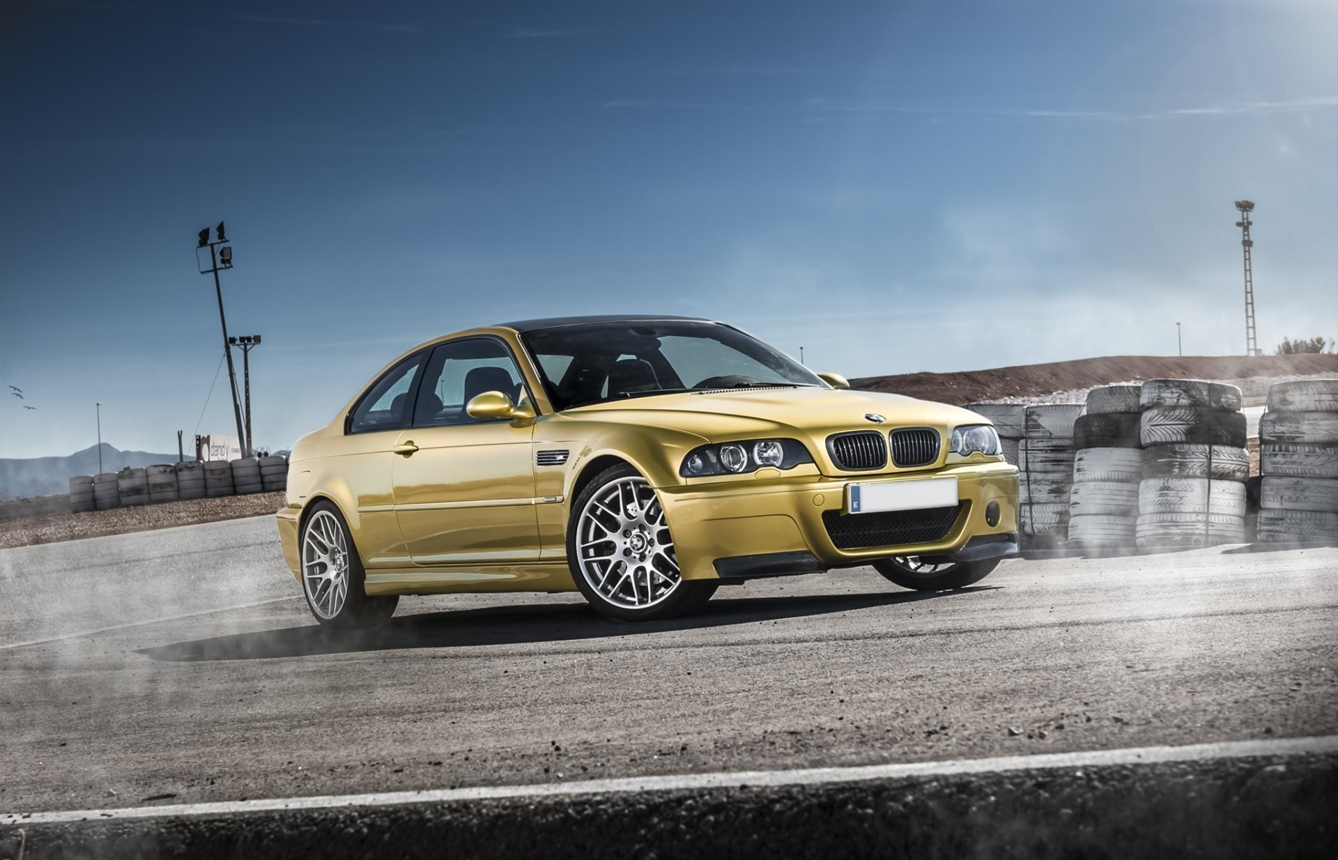 1920x1234 Bmw E46 M3 Gold Hd Wallpaper